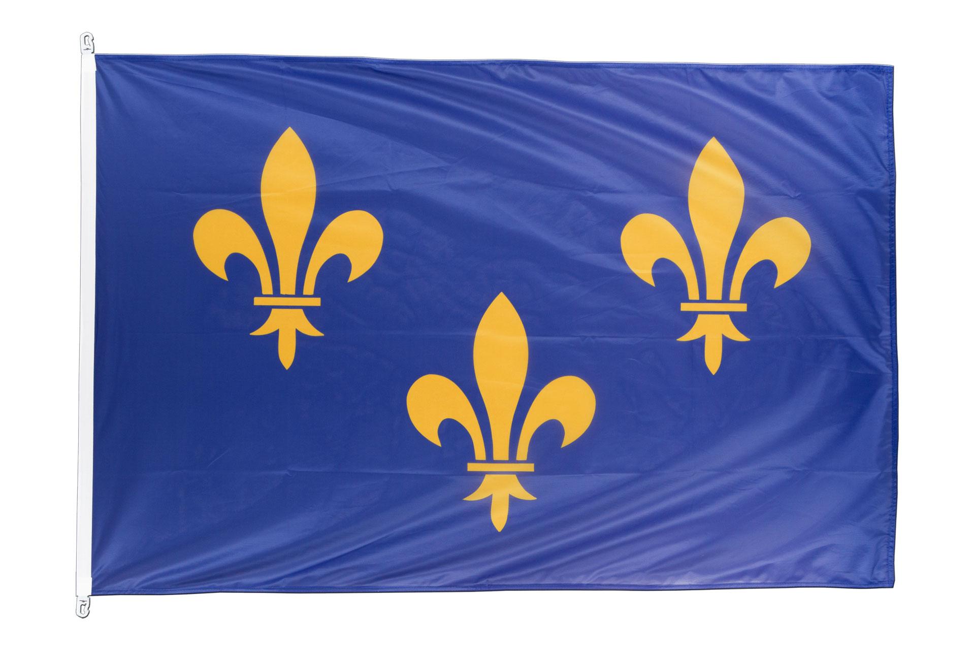 pavillon drapeau le de france 100x150 monsieur des. Black Bedroom Furniture Sets. Home Design Ideas