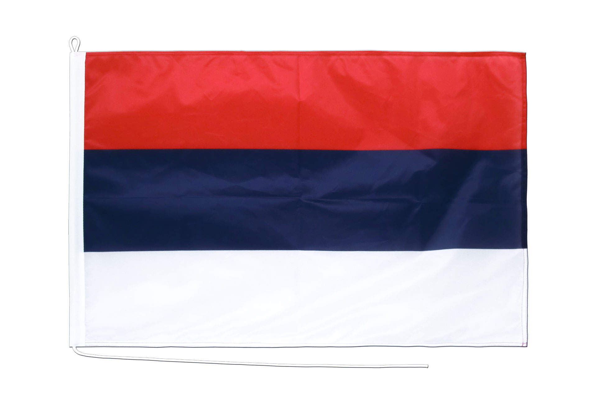 drapeau de bateau serbie 60 x 90 cm monsieur des drapeaux