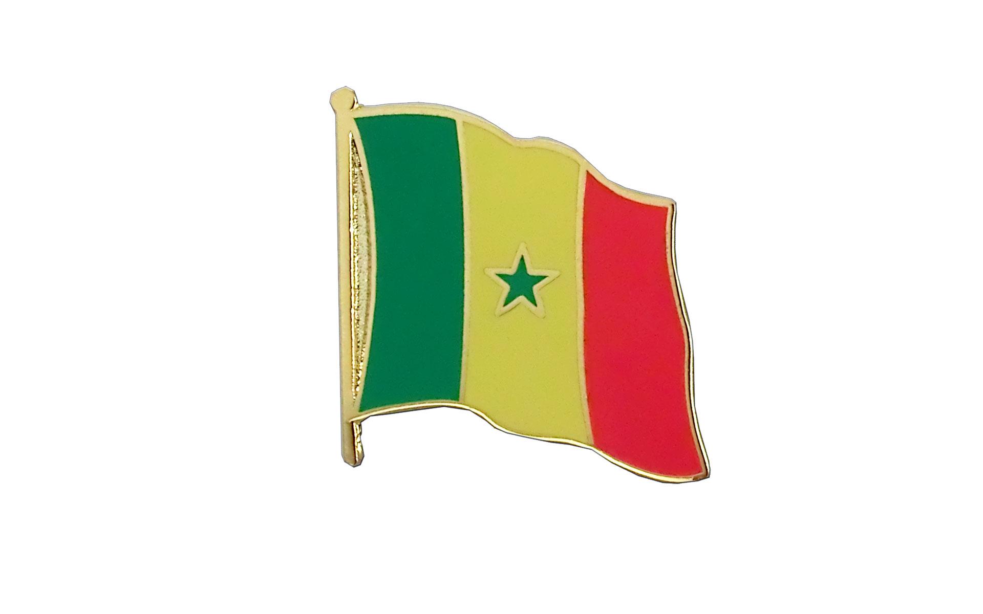 Senegal Flag Lapel Pin Royal Flags