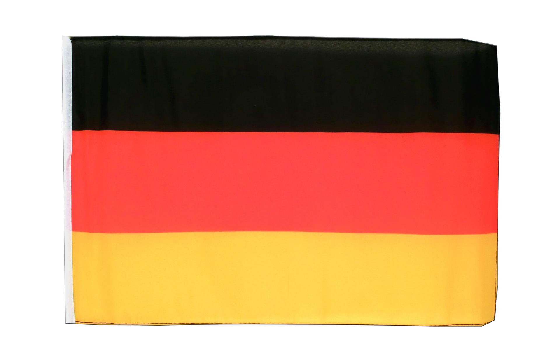 kleine deutschland flagge 30 x 45 cm. Black Bedroom Furniture Sets. Home Design Ideas