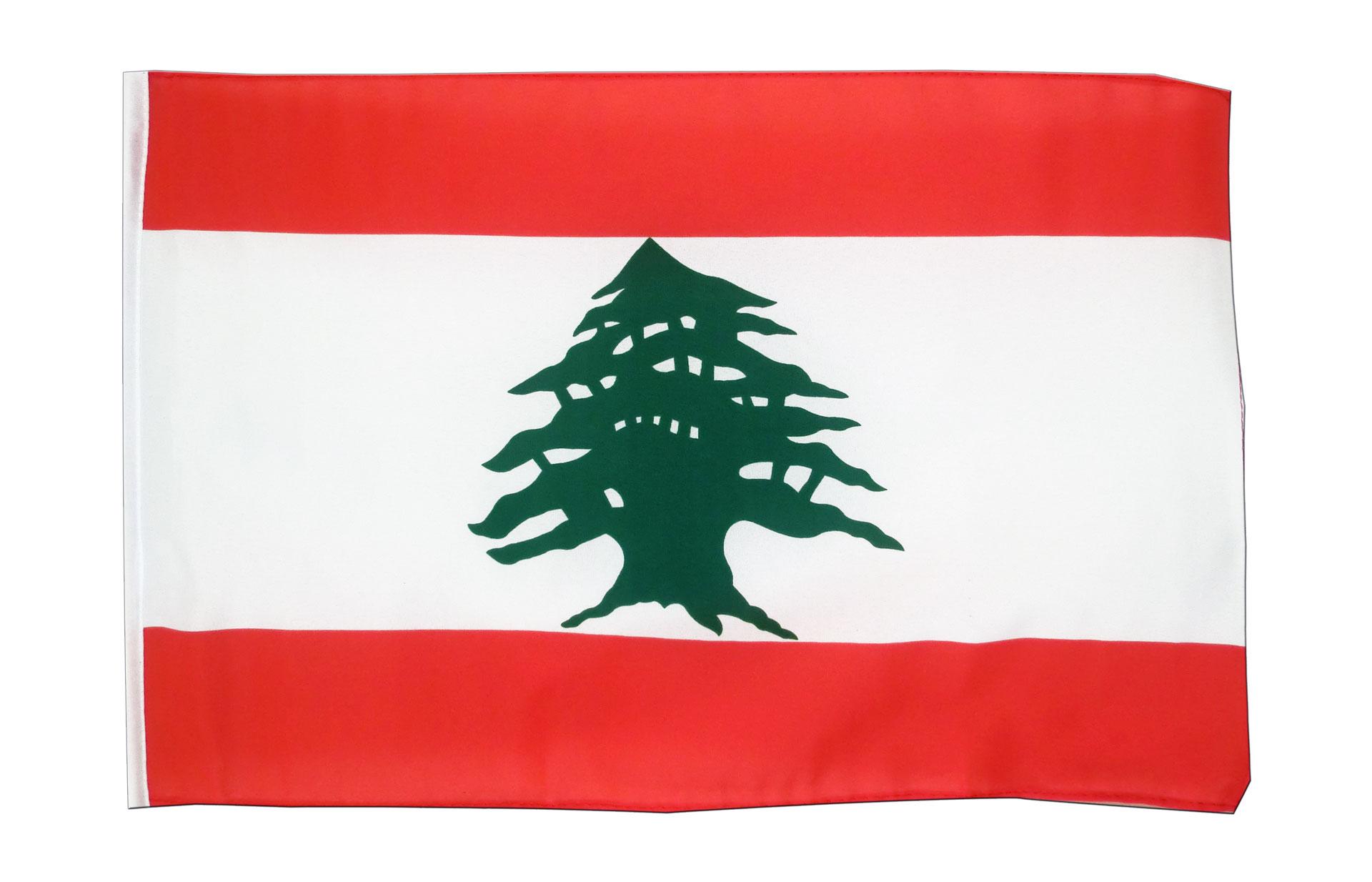 kleine libanon flagge 30 x 45 cm. Black Bedroom Furniture Sets. Home Design Ideas
