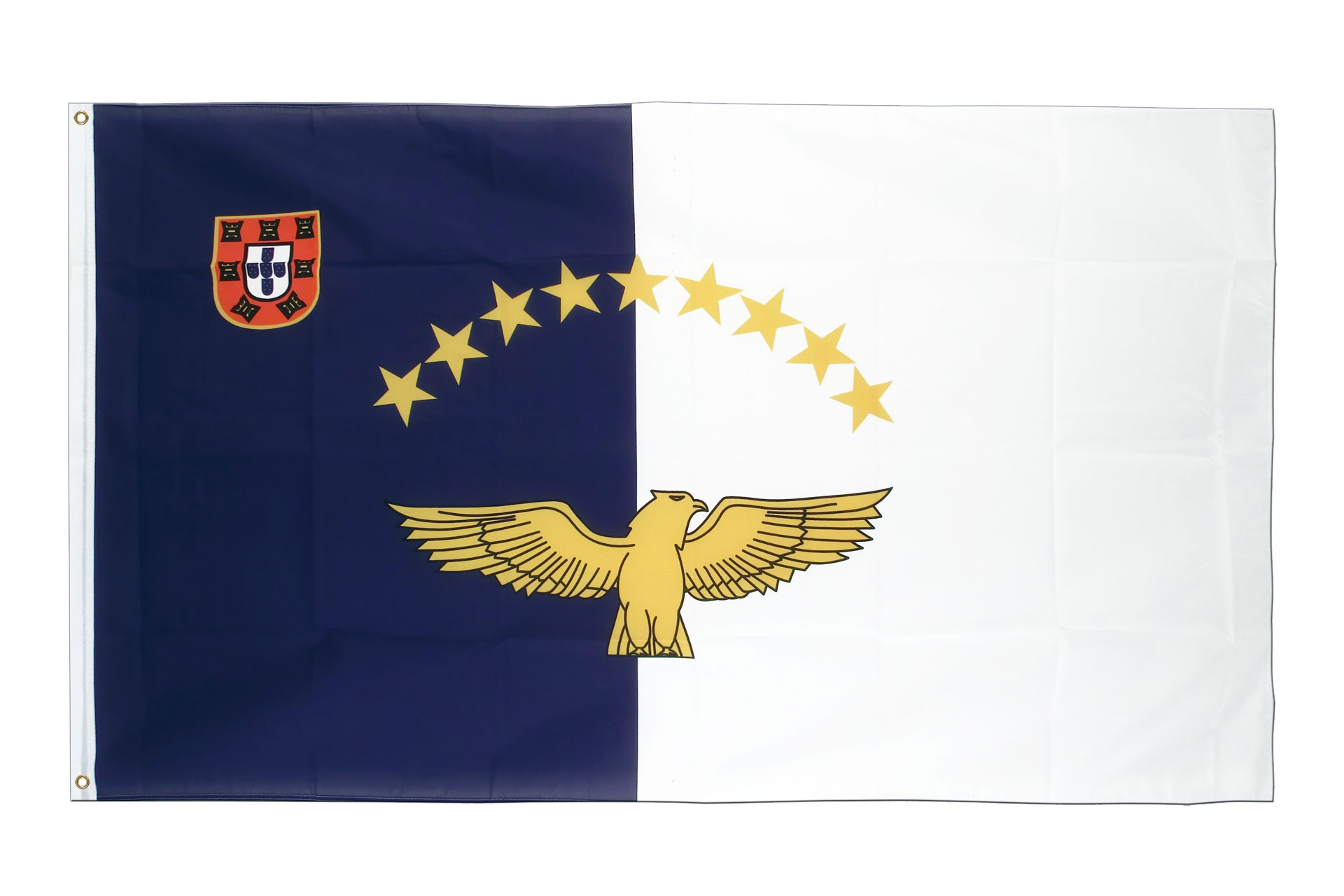 Click here to enlarge the image of the flag: royal-flags.co.uk/azores-flag-1554.html