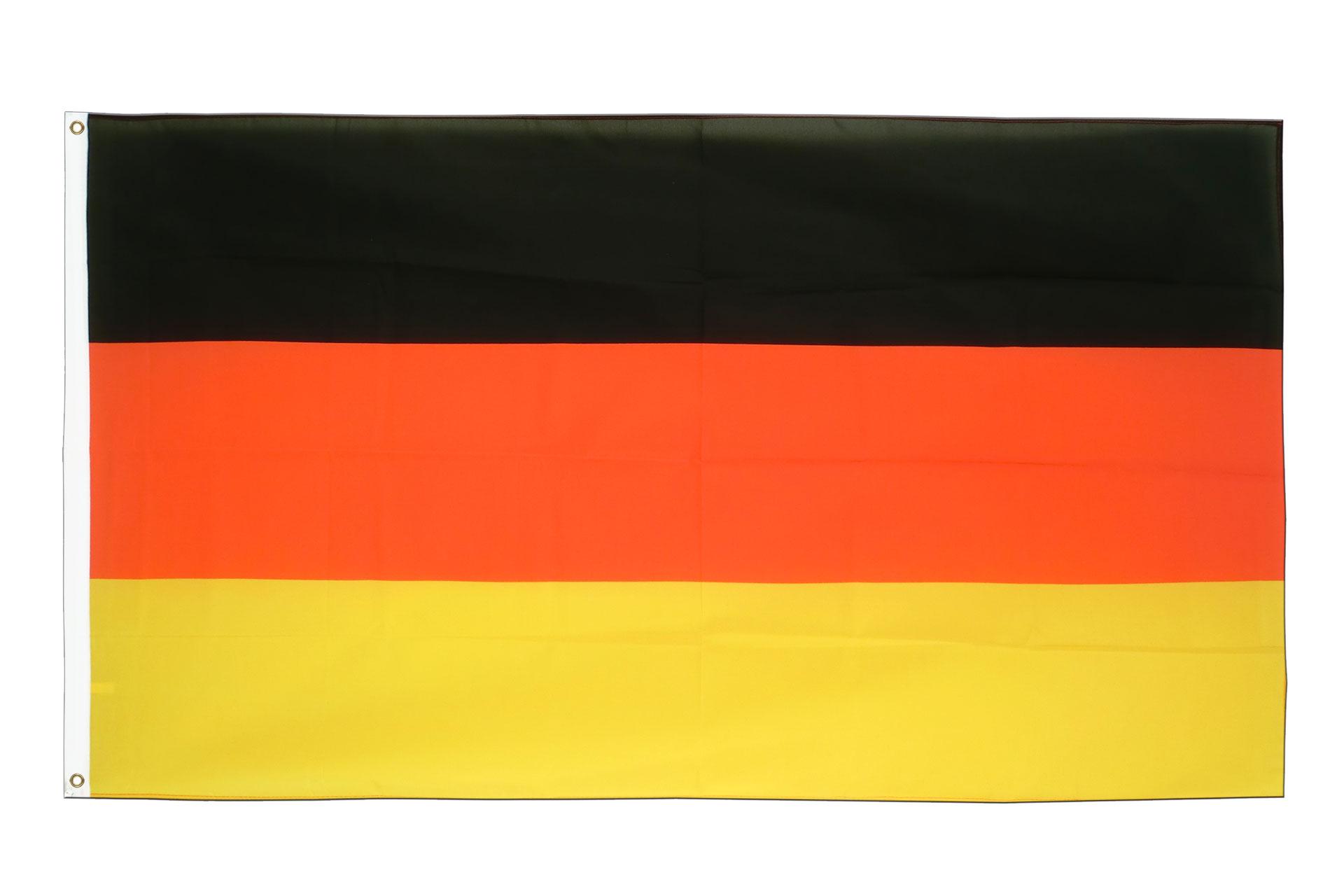 deutschland flagge deutsche fahne kaufen fahnen shop. Black Bedroom Furniture Sets. Home Design Ideas