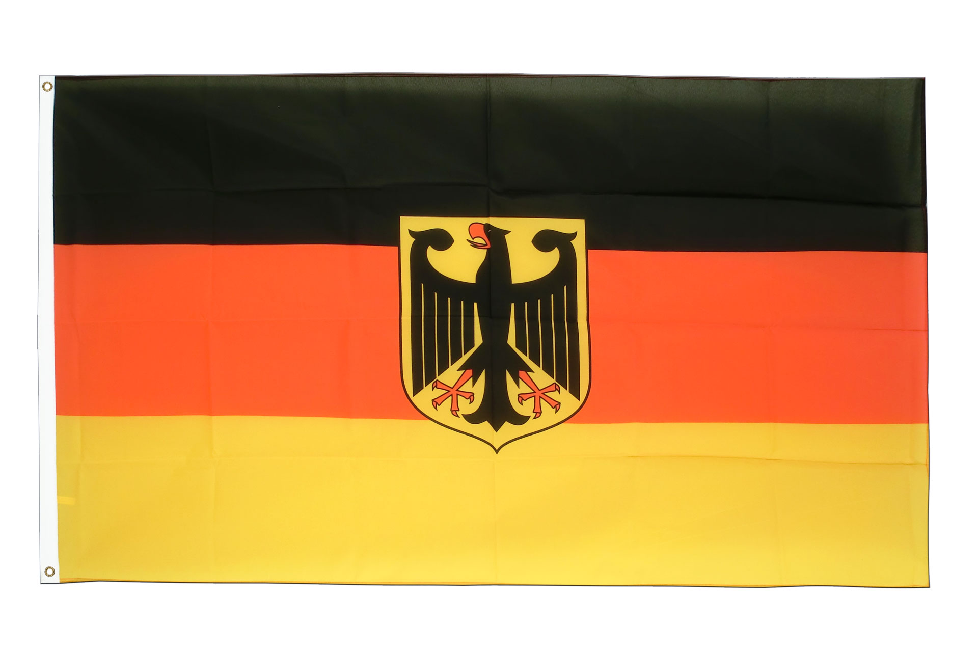 deutschland dienstflagge fahne kaufen 90 x 150 cm. Black Bedroom Furniture Sets. Home Design Ideas