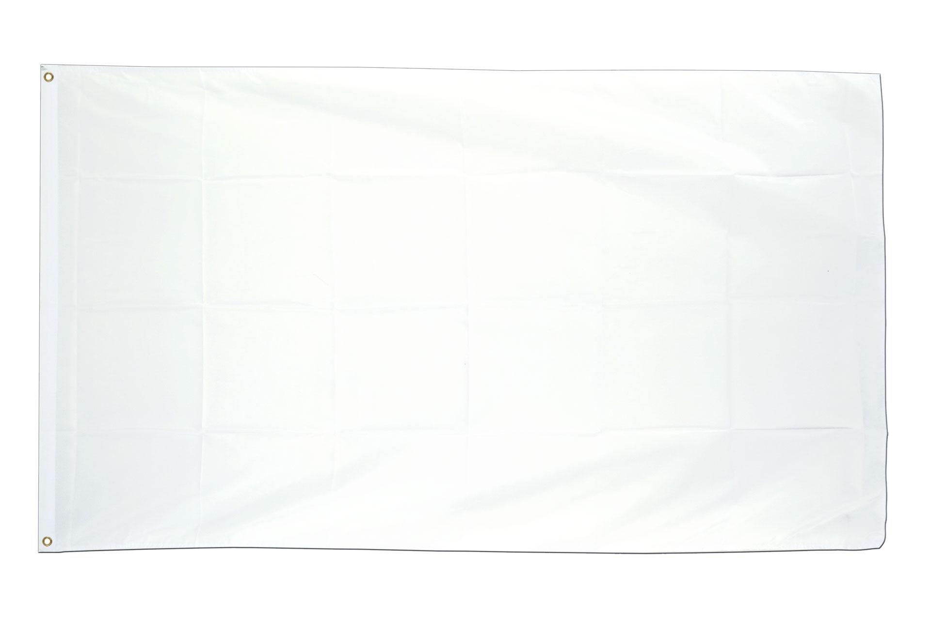 acheter drapeau blanc 90 x 150 cm monsieur des drapeaux. Black Bedroom Furniture Sets. Home Design Ideas