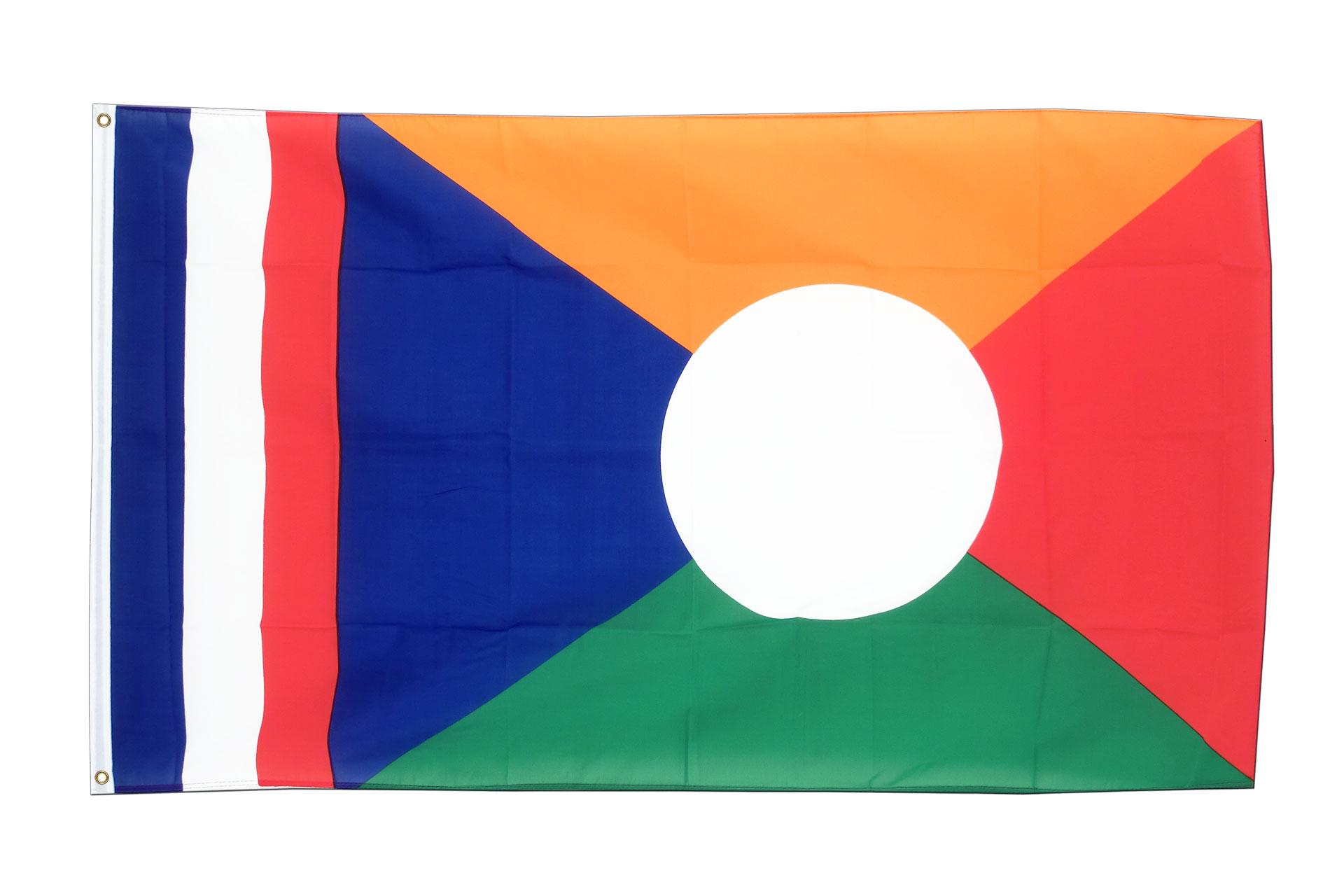 acheter drapeau r union 90 x 150 cm monsieur des drapeaux. Black Bedroom Furniture Sets. Home Design Ideas