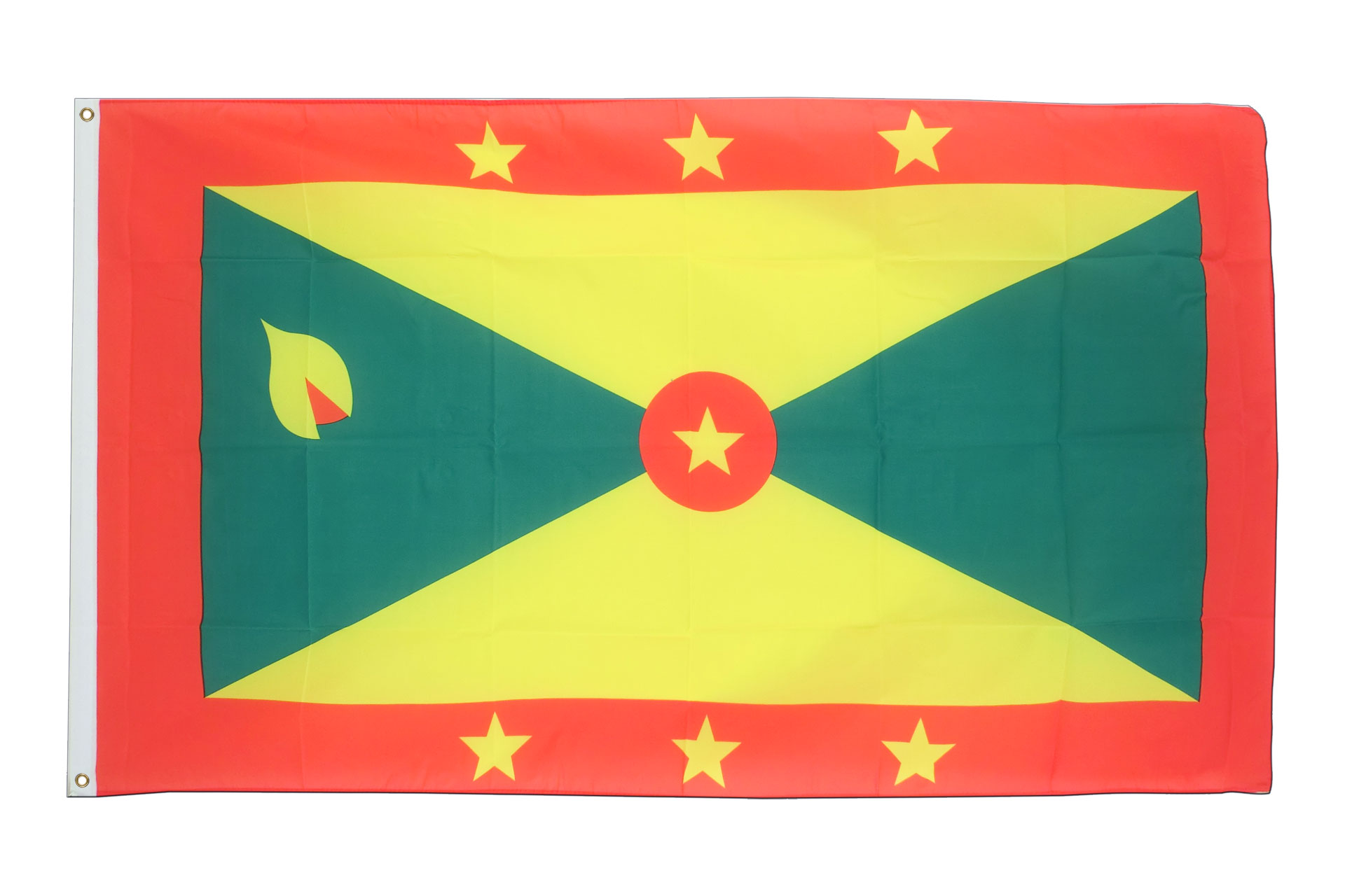 Buy Grenada Flag - 3x5 ft (90x150 cm) - Royal-Flags: royal-flags.co.uk/grenada-flag-1662.html