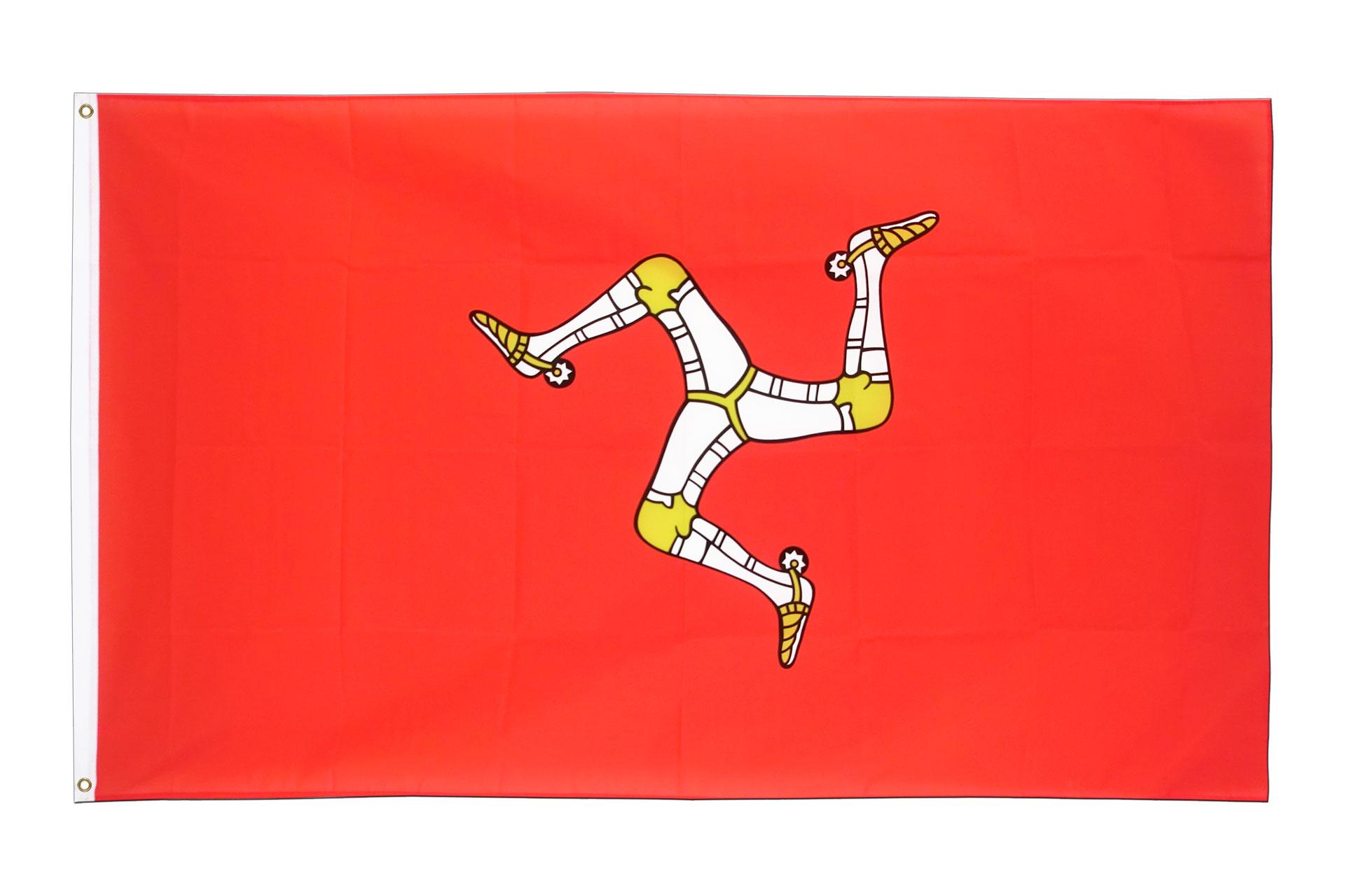 acheter drapeau le de man 90 x 150 cm monsieur des drapeaux. Black Bedroom Furniture Sets. Home Design Ideas