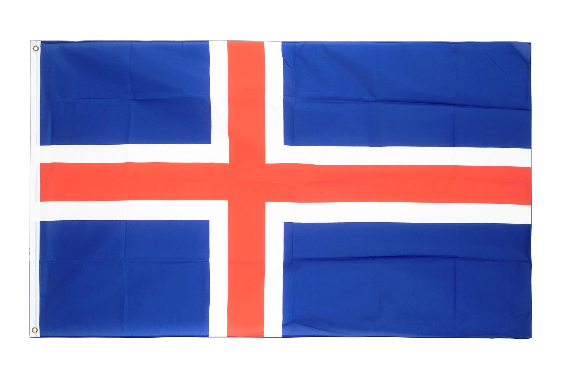 Drapeau Islande 224 Acheter 90 X 150 Cm Monsieur Des