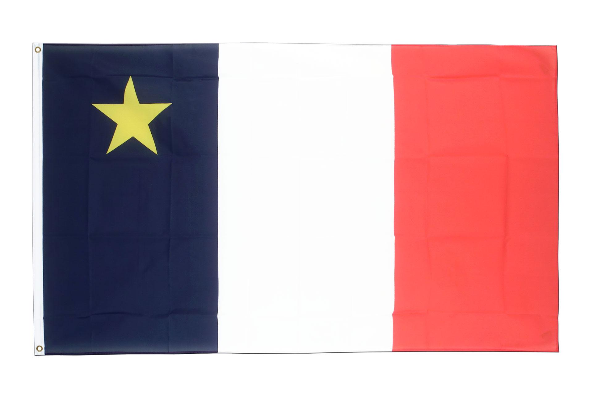 Buy Acadia Flag - 3x5 ft (90x150 cm) - Royal-Flags: https://www.royal-flags.co.uk/acadia-flag-1820.html