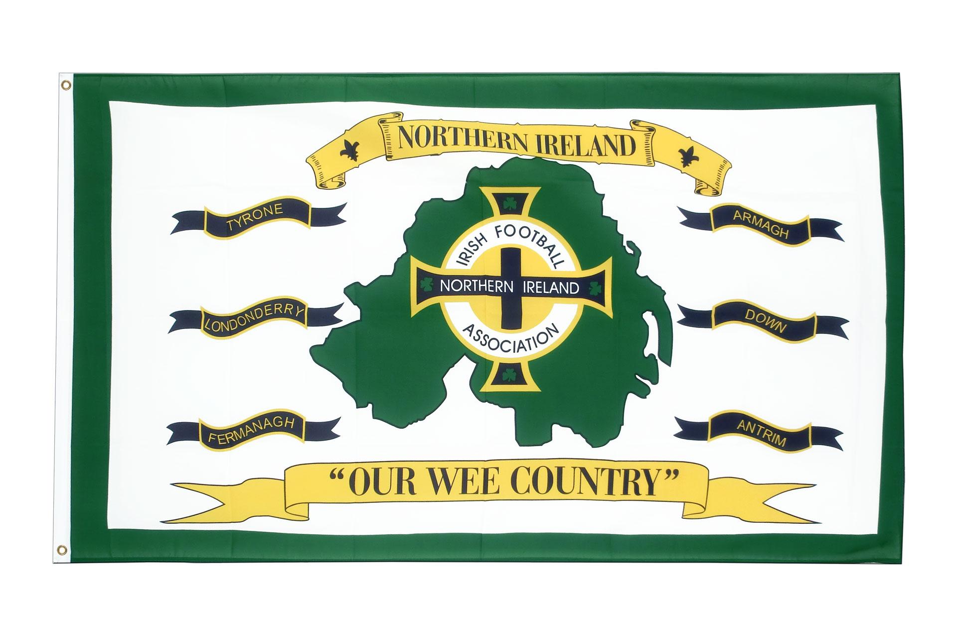 Acheter Drapeau Irlande Du Nord Association De Football