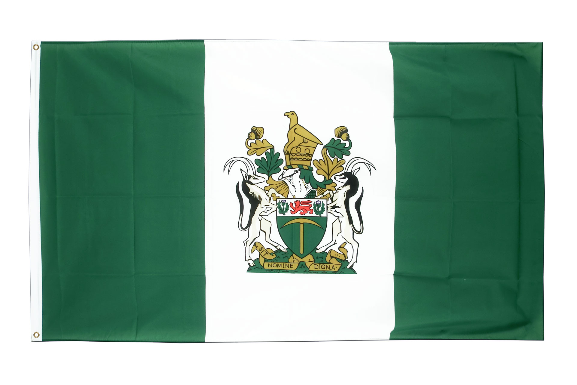 Buy Rhodesia Flag - 3x5 ft (90x150 cm) - Royal-Flags: https://www.royal-flags.co.uk/rhodesia-flag-1970.html