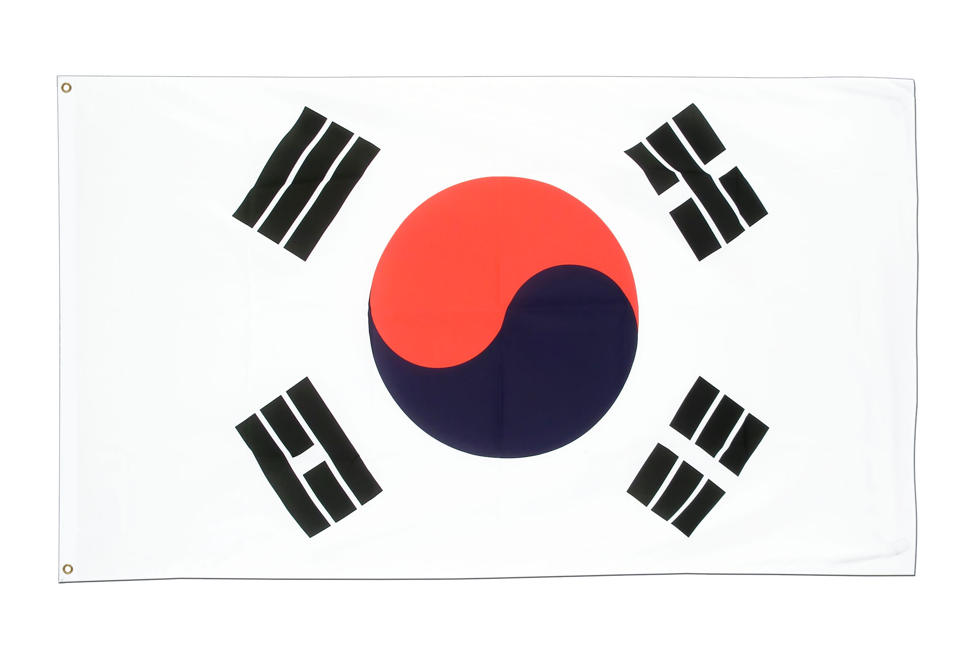 Buy south korea flag 3x5 ft 90x150 cm royal flags - Picture of a korean flag ...
