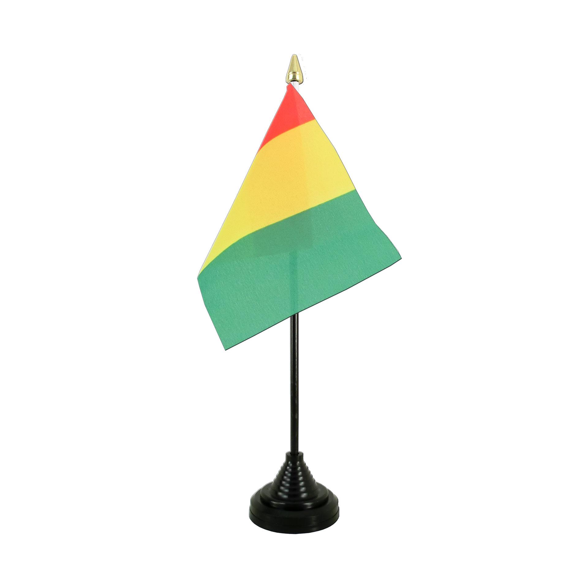 mini drapeau guinée - monsieur-des-drapeaux