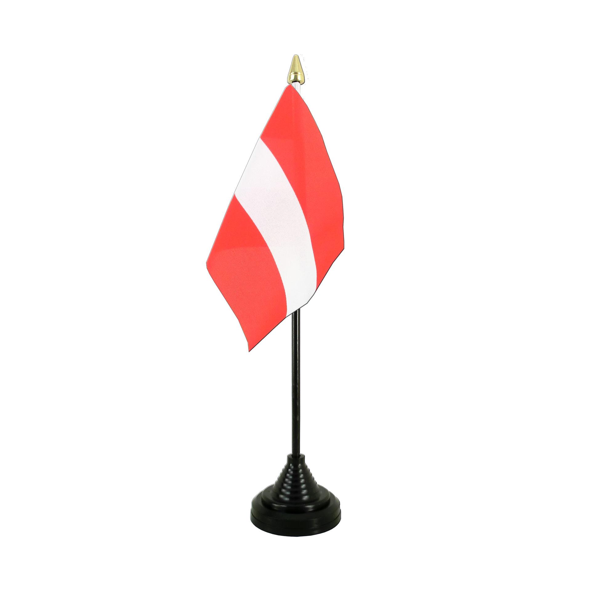 table flag austria royal flags
