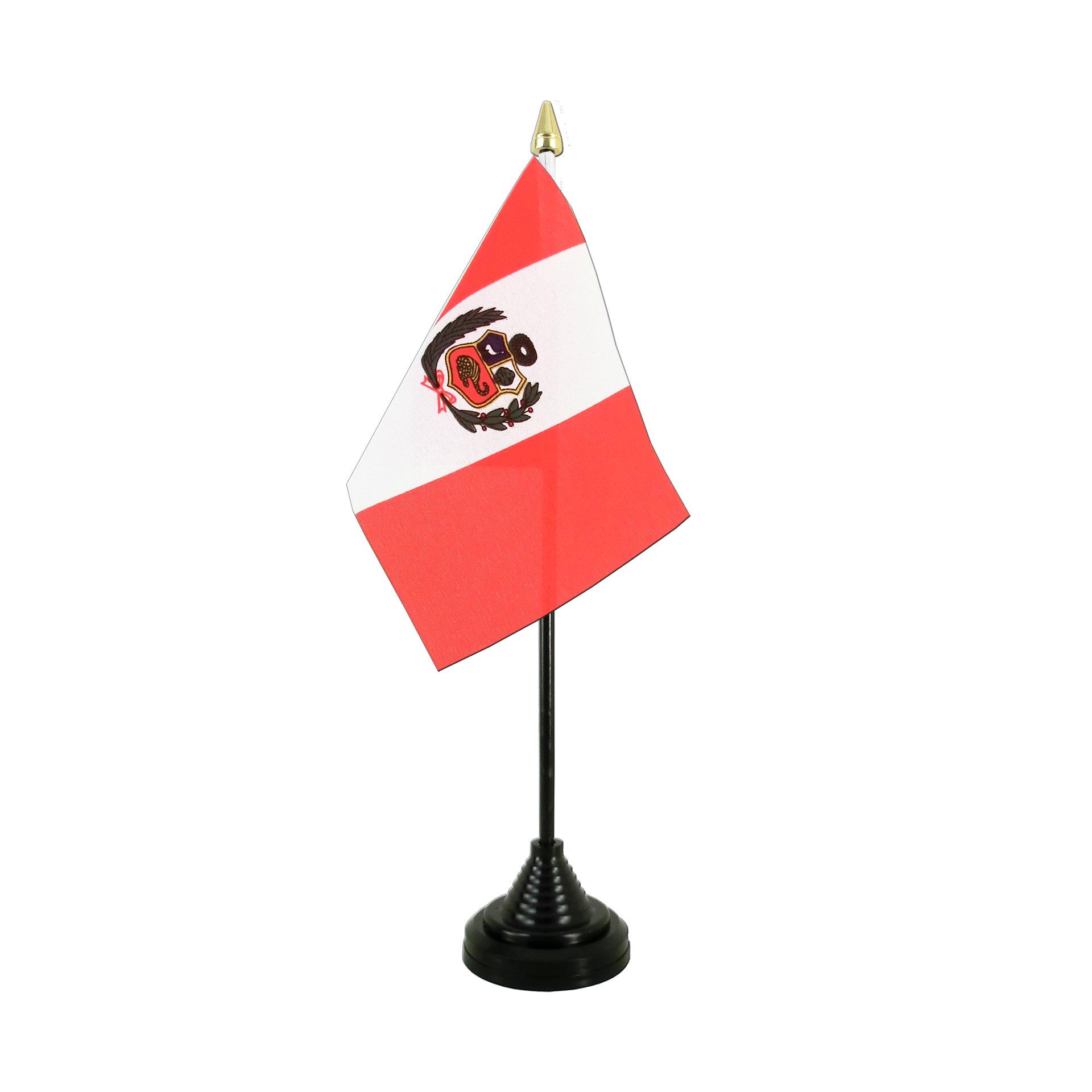 table flag peru royal flags