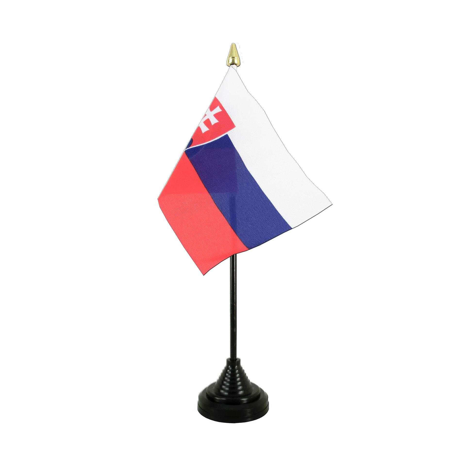 Flaggenfritze/® Tischflagge Slowakei 10x15 cm