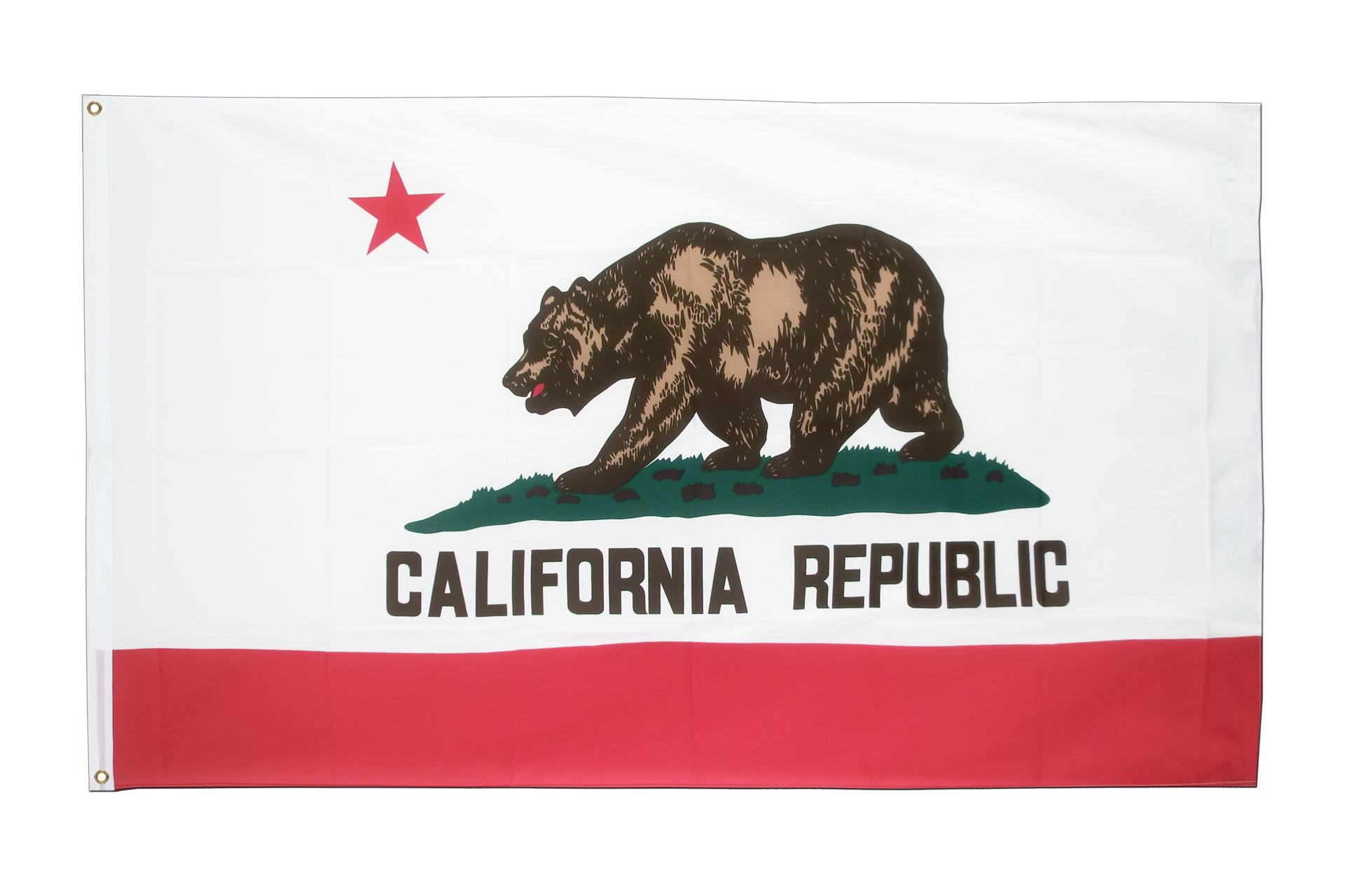 kalifornien fahne kaufen 90 x 150 cm. Black Bedroom Furniture Sets. Home Design Ideas