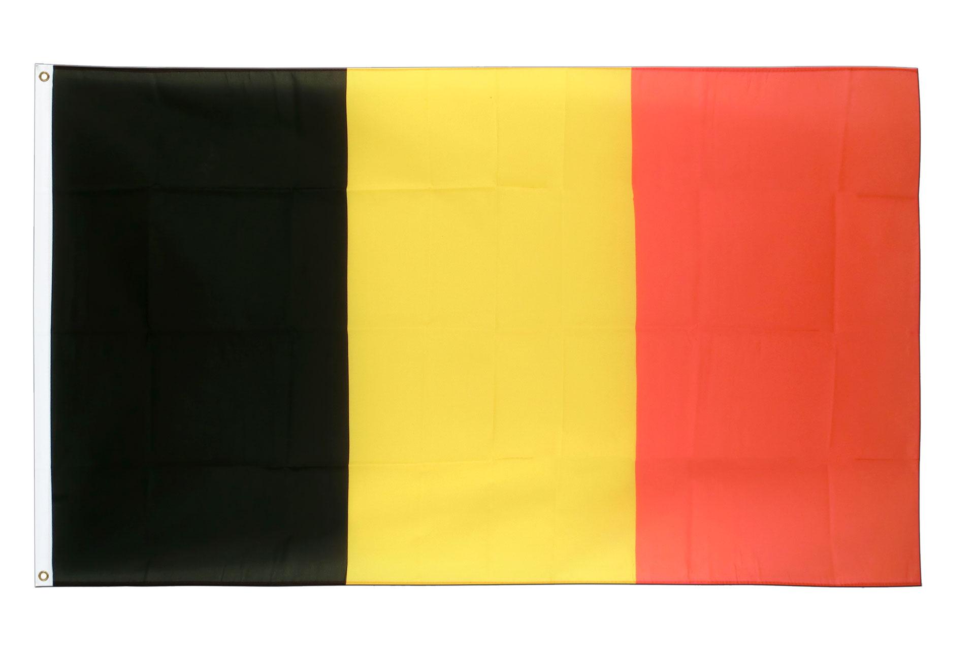 Drapeau belge pas cher 60 x 90 cm m des drapeaux for Drapeau publicitaire exterieur pas cher