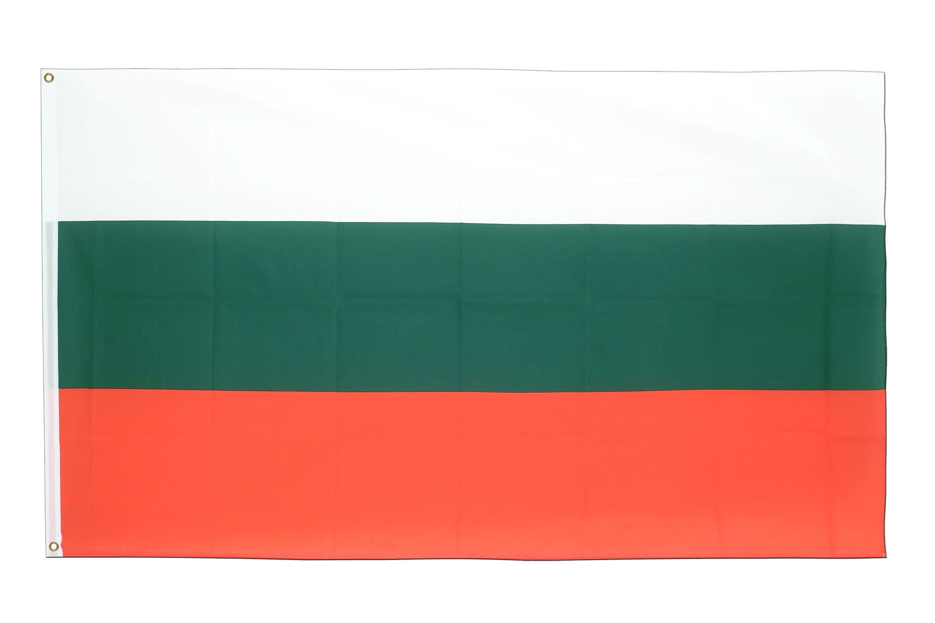 Drapeau pas cher bulgarie 60 x 90 cm monsieur des drapeaux for Drapeau publicitaire exterieur pas cher