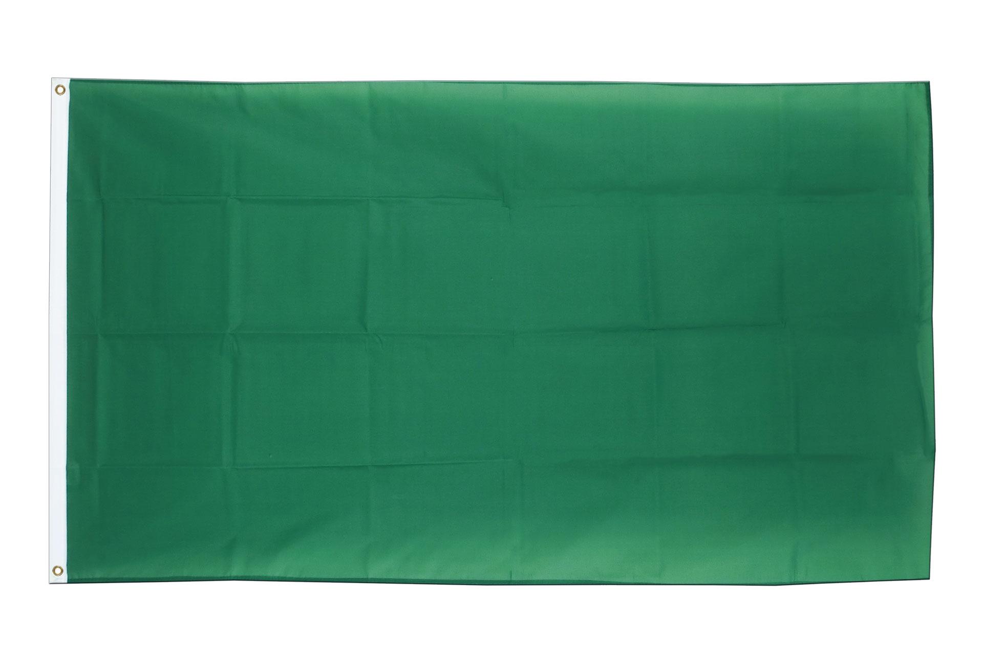 Drapeau pas cher vert 60 x 90 cm monsieur des drapeaux for Drapeau publicitaire exterieur pas cher