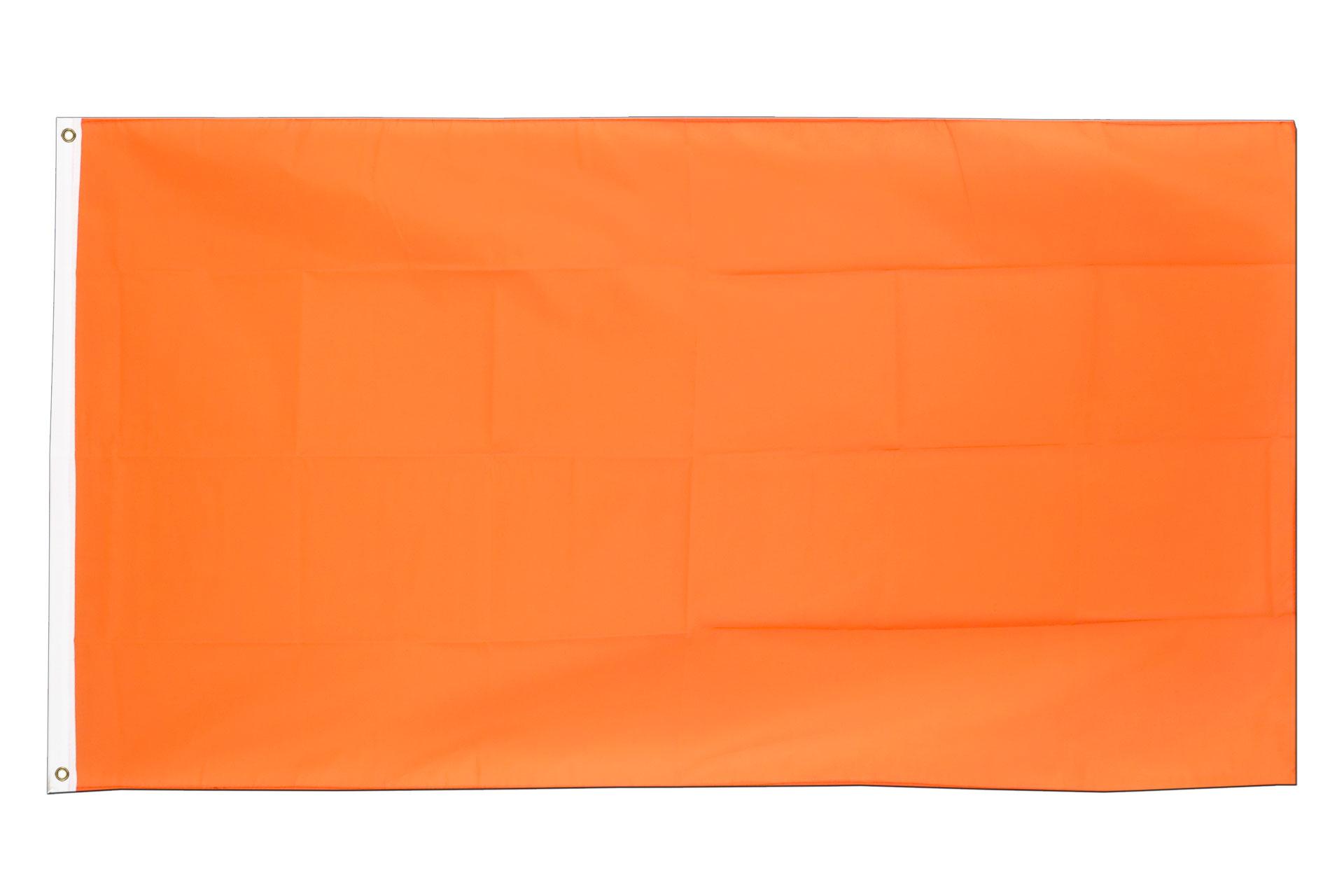 Drapeau pas cher orange 60 x 90 cm monsieur des drapeaux for Drapeau publicitaire exterieur pas cher