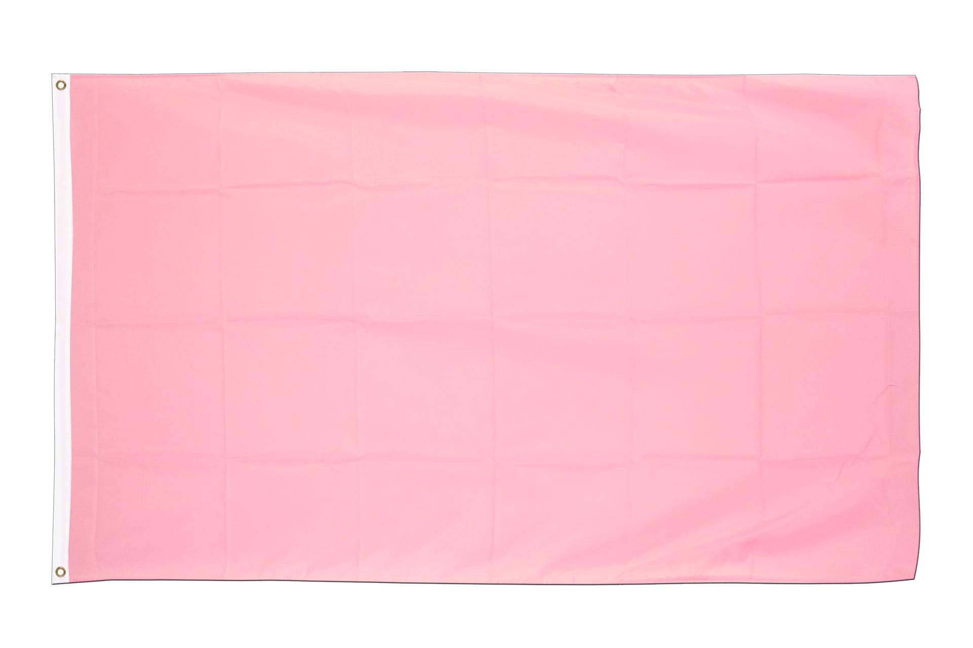 Drapeau pas cher rose 60 x 90 cm monsieur des drapeaux for Drapeau publicitaire exterieur pas cher