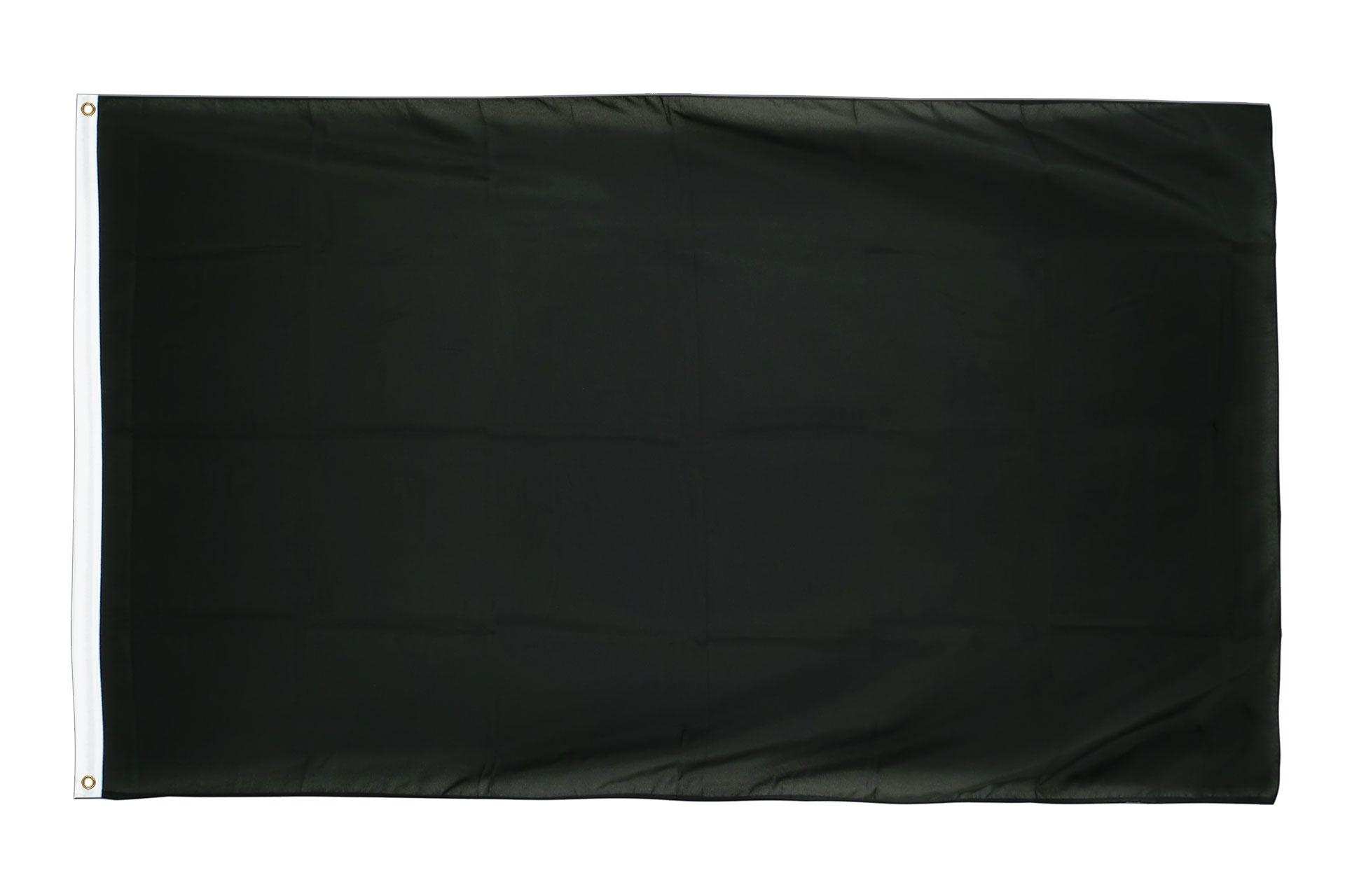 Drapeau pas cher noir 60 x 90 cm monsieur des drapeaux for Drapeau publicitaire exterieur pas cher