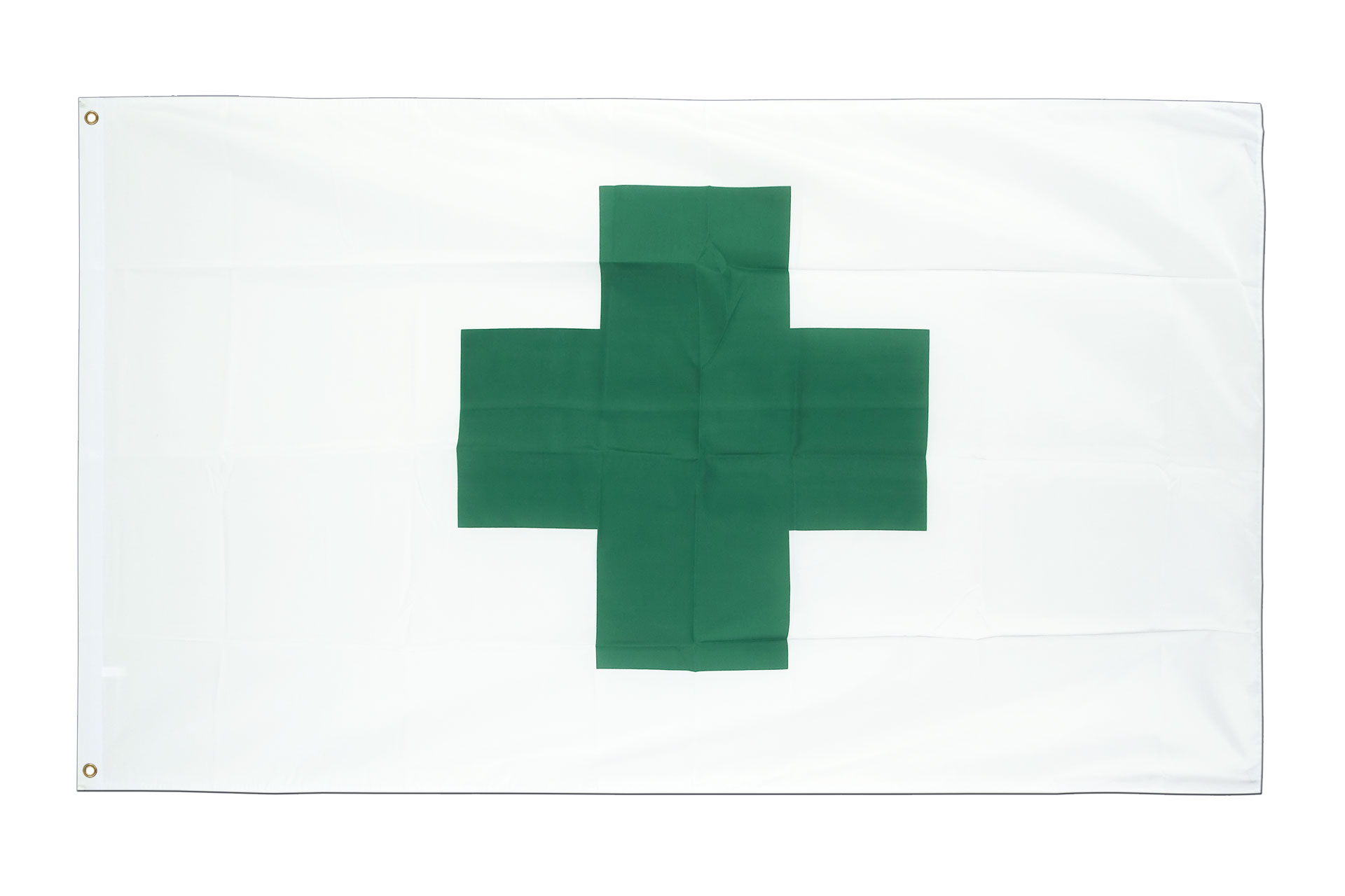 Drapeau pas cher croix verte 60 x 90 cm monsieur des for Drapeau publicitaire exterieur pas cher