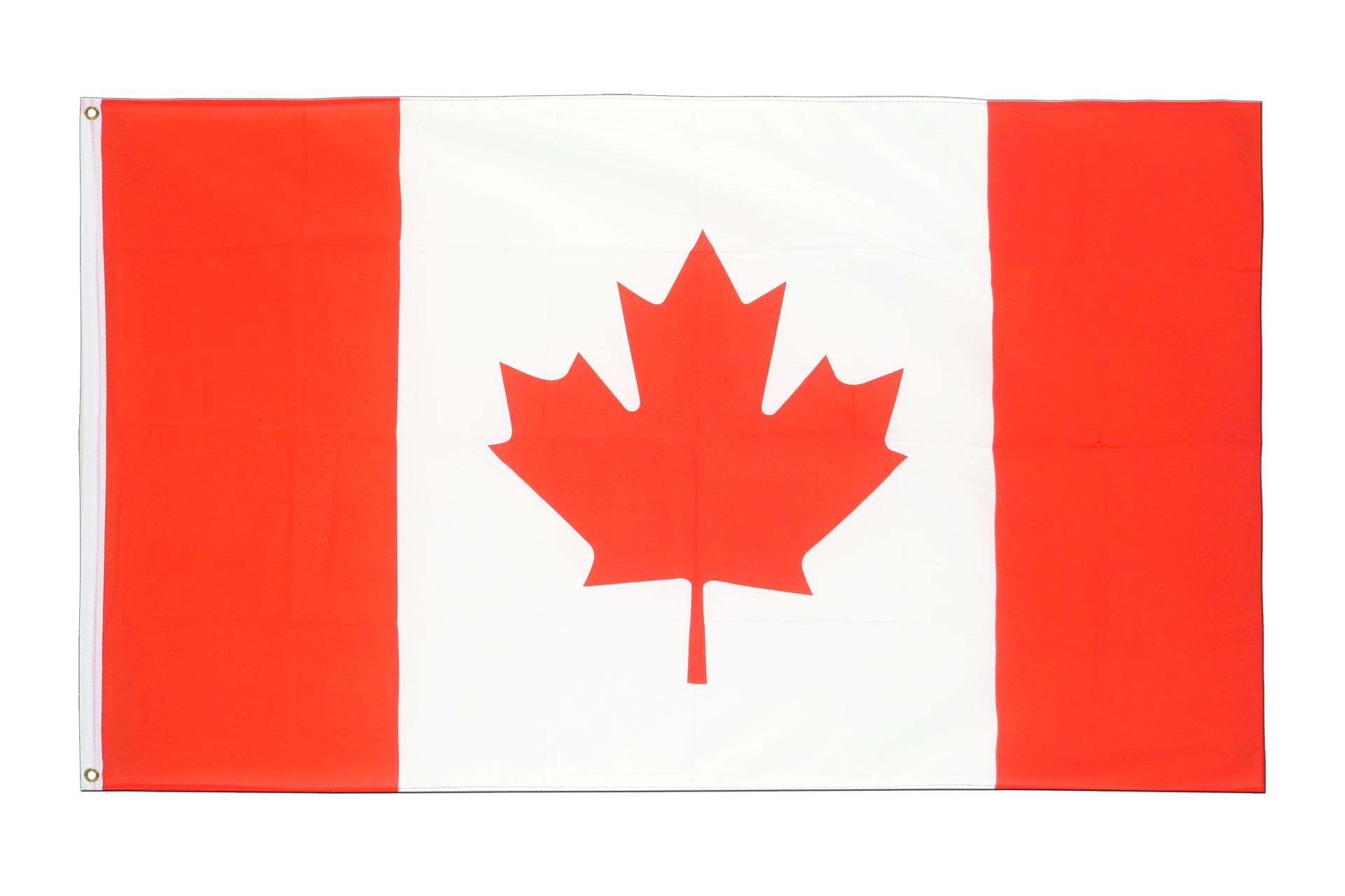 Drapeau canada pas cher 60 x 90 cm monsieur drapeaux for Drapeau publicitaire exterieur pas cher