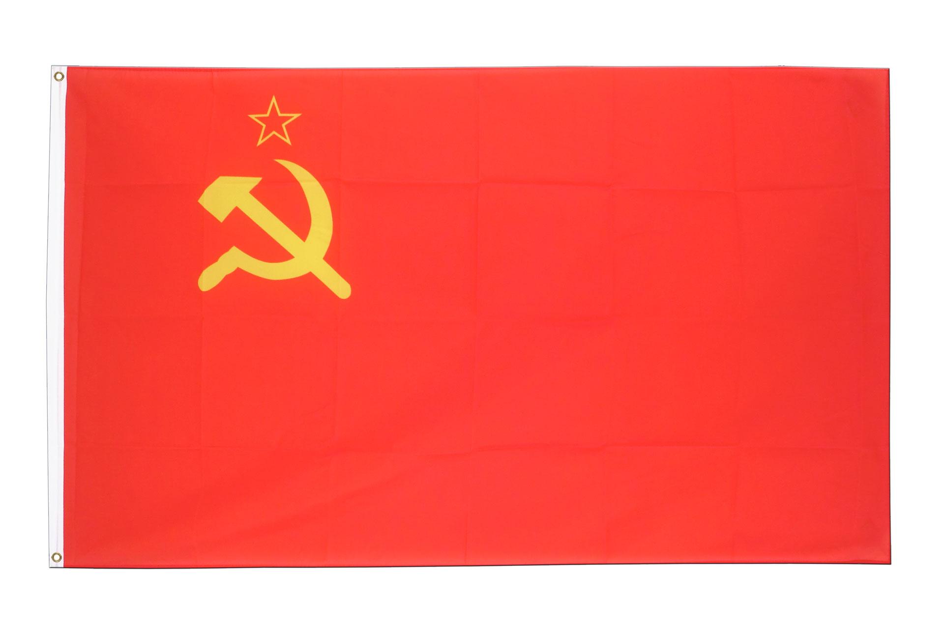 Drapeau urss pas cher 60 x 90 cm monsieur drapeaux for Drapeau publicitaire exterieur pas cher
