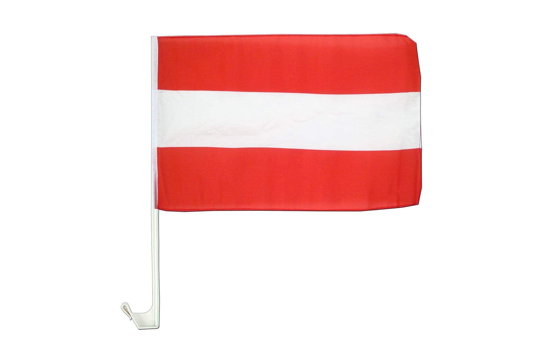 car flag austria 12x16 royal flags