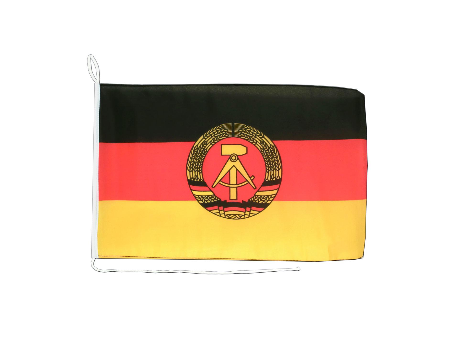 150 x 250 cm mit 3 Ösen DDR Fahne Flagge