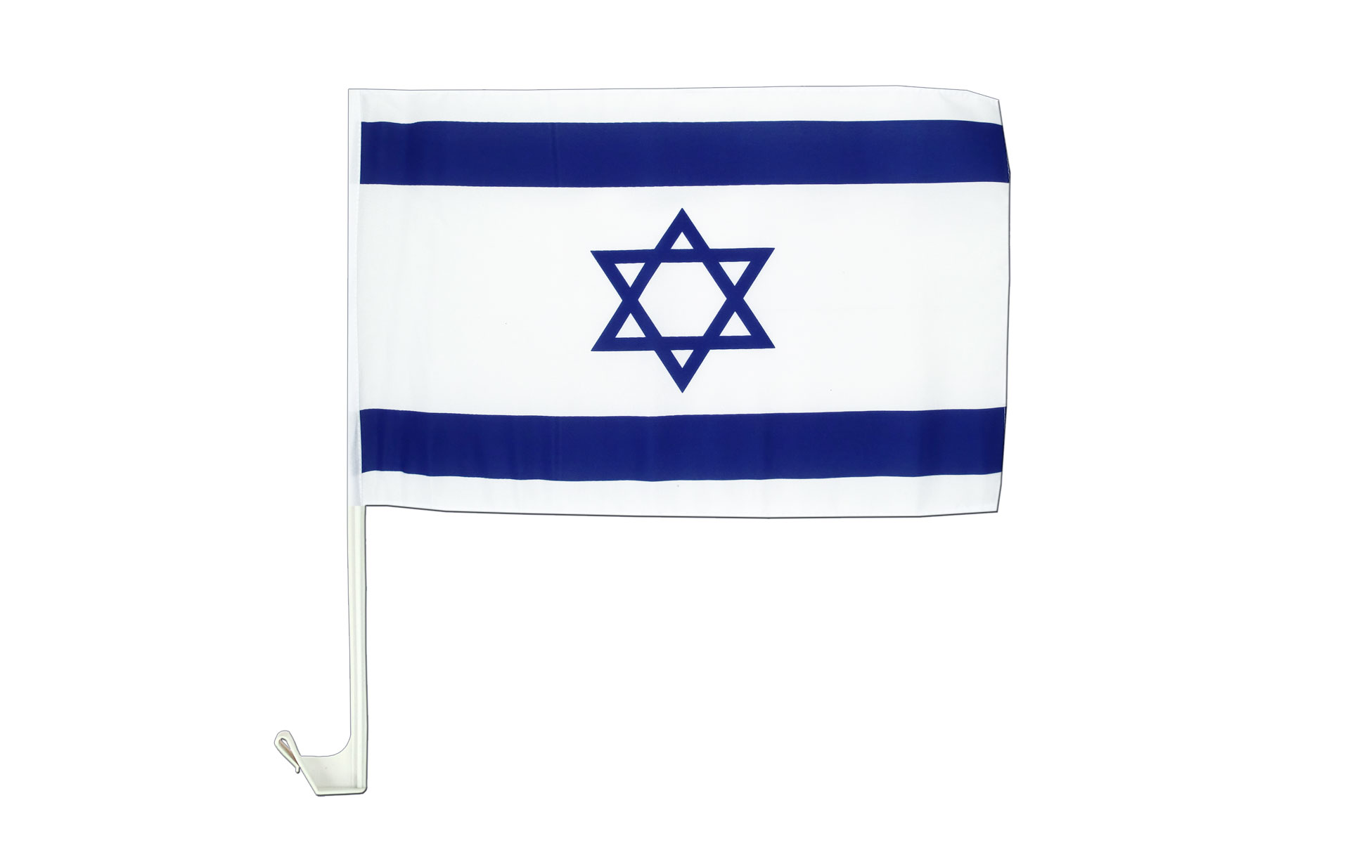 israel autoflagge autofahne 30 x 40 cm flaggenplatz online shop. Black Bedroom Furniture Sets. Home Design Ideas