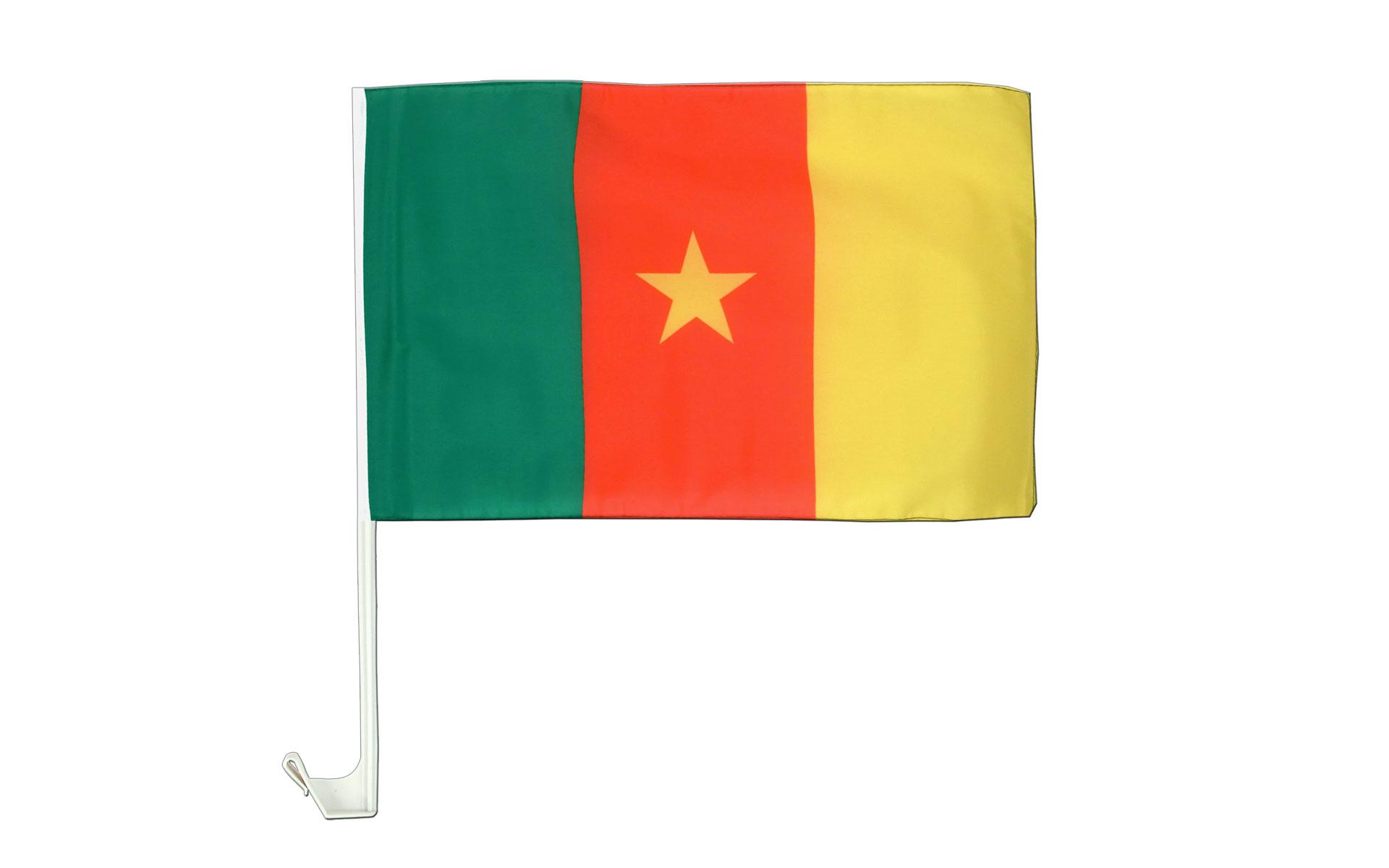 Drapeau De Voiture Cameroun Monsieur Des Drapeaux