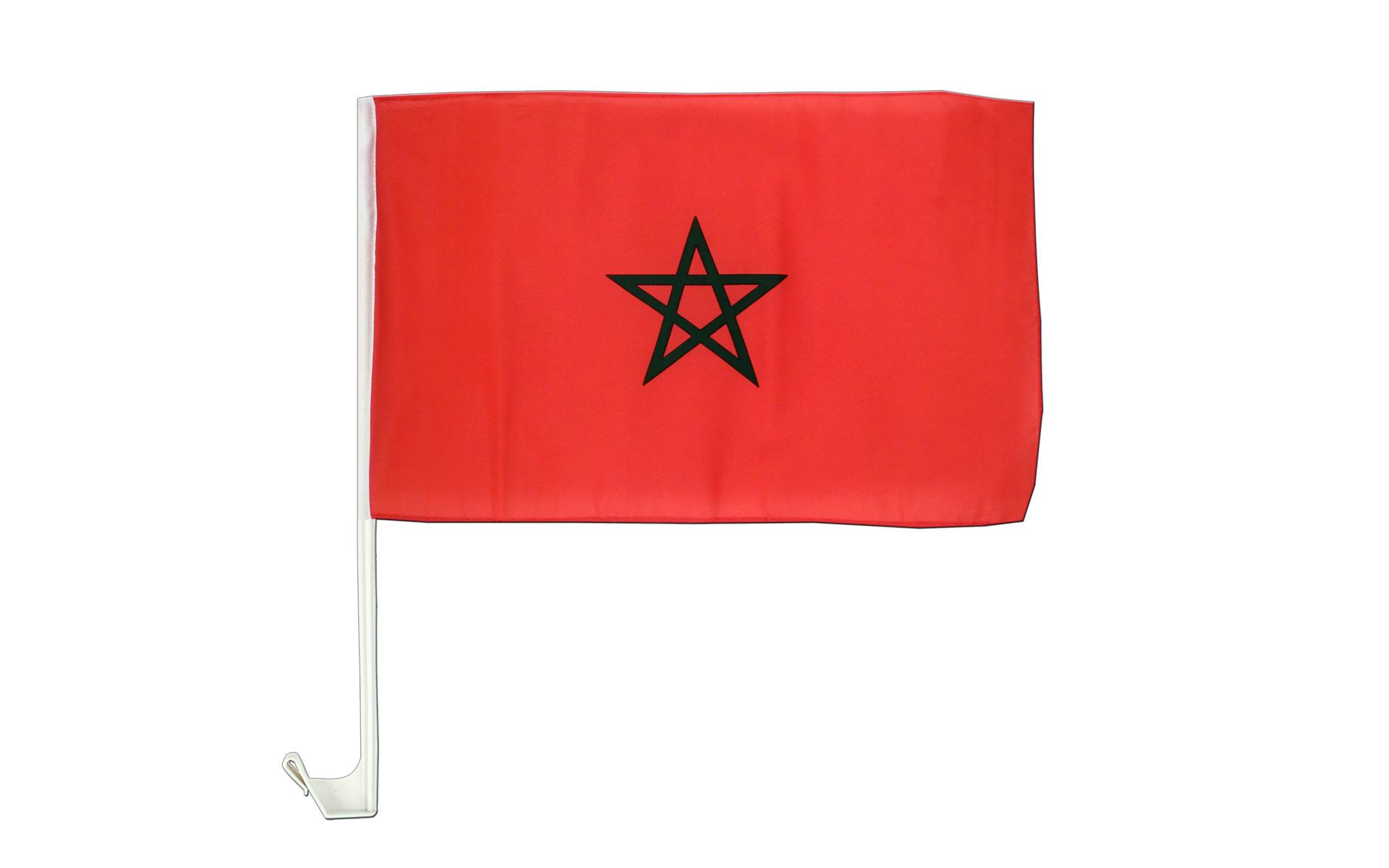 Drapeau de voiture maroc monsieur des drapeaux - Drapeau du maroc a imprimer ...