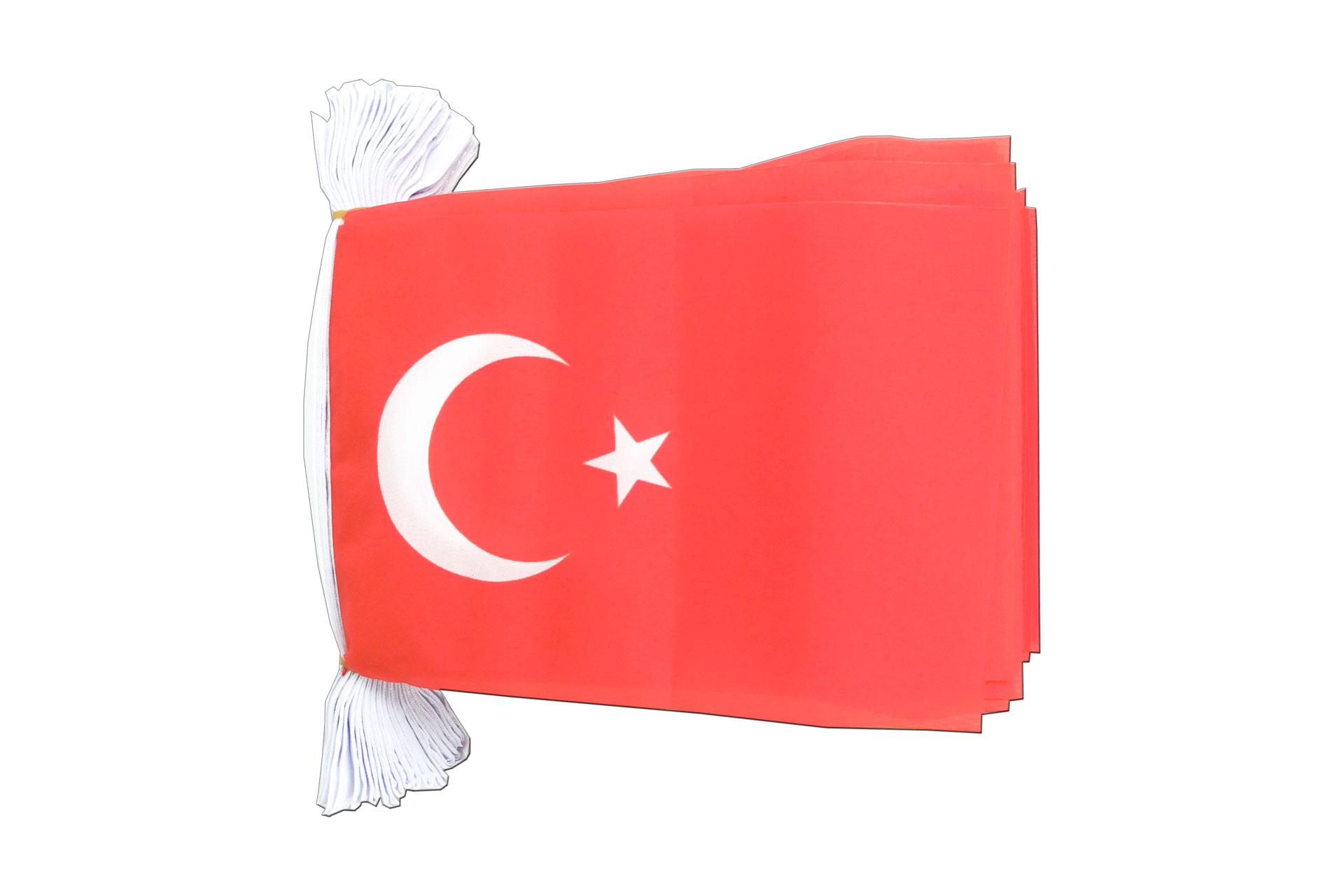 Fahnenkette Türkei 5 m