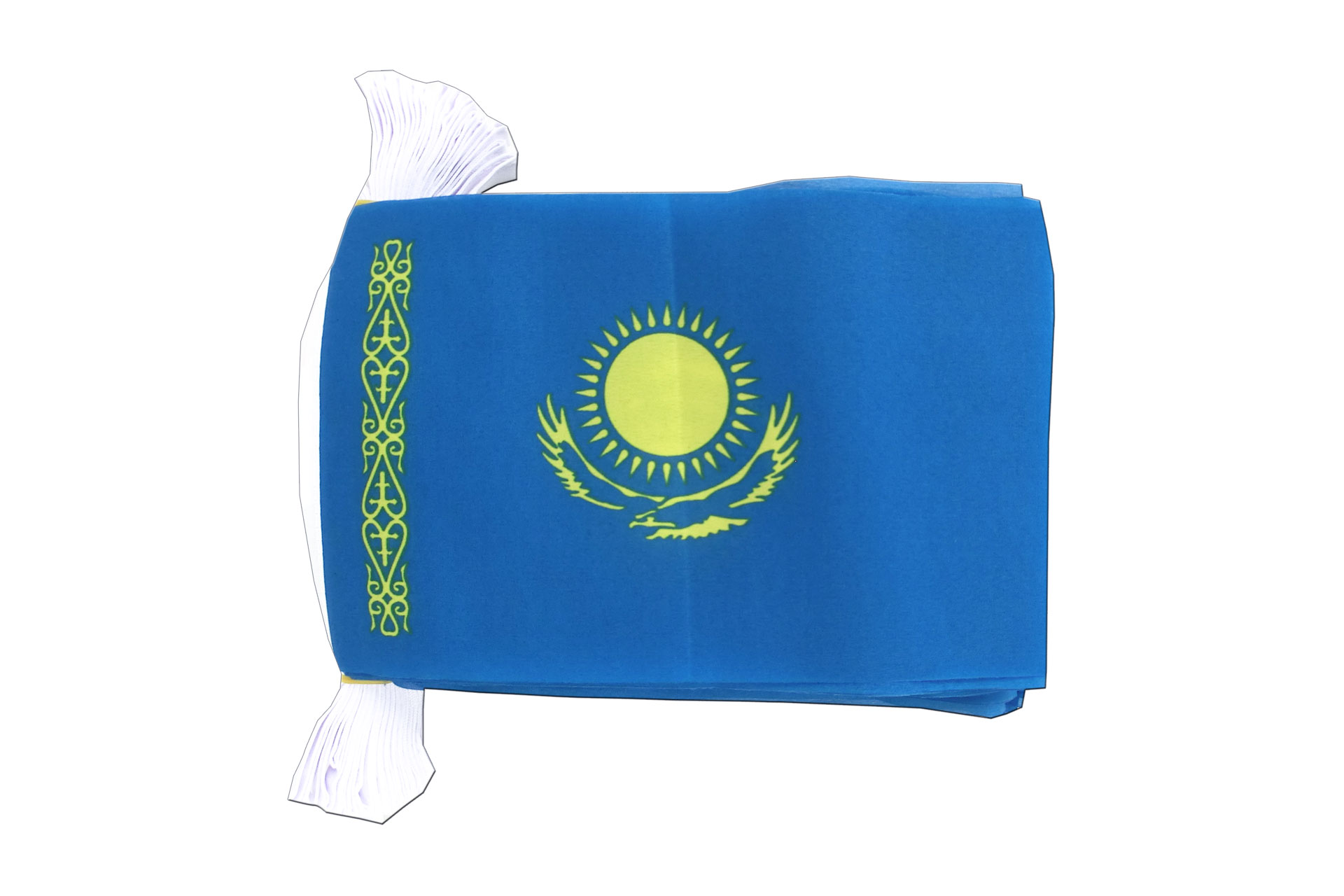 "Kazakhstan Flag Bunting - 6x9"" - Royal-Flags"
