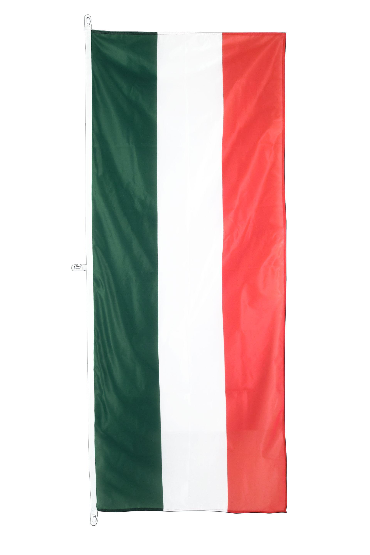 Italian Flag: Vertical Hanging Flag 80 X 200 Cm