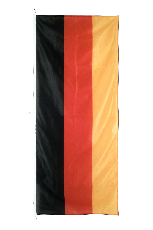 Deutschland Flagge 80 X 200 Cm Hochformat Flaggenplatz Shop