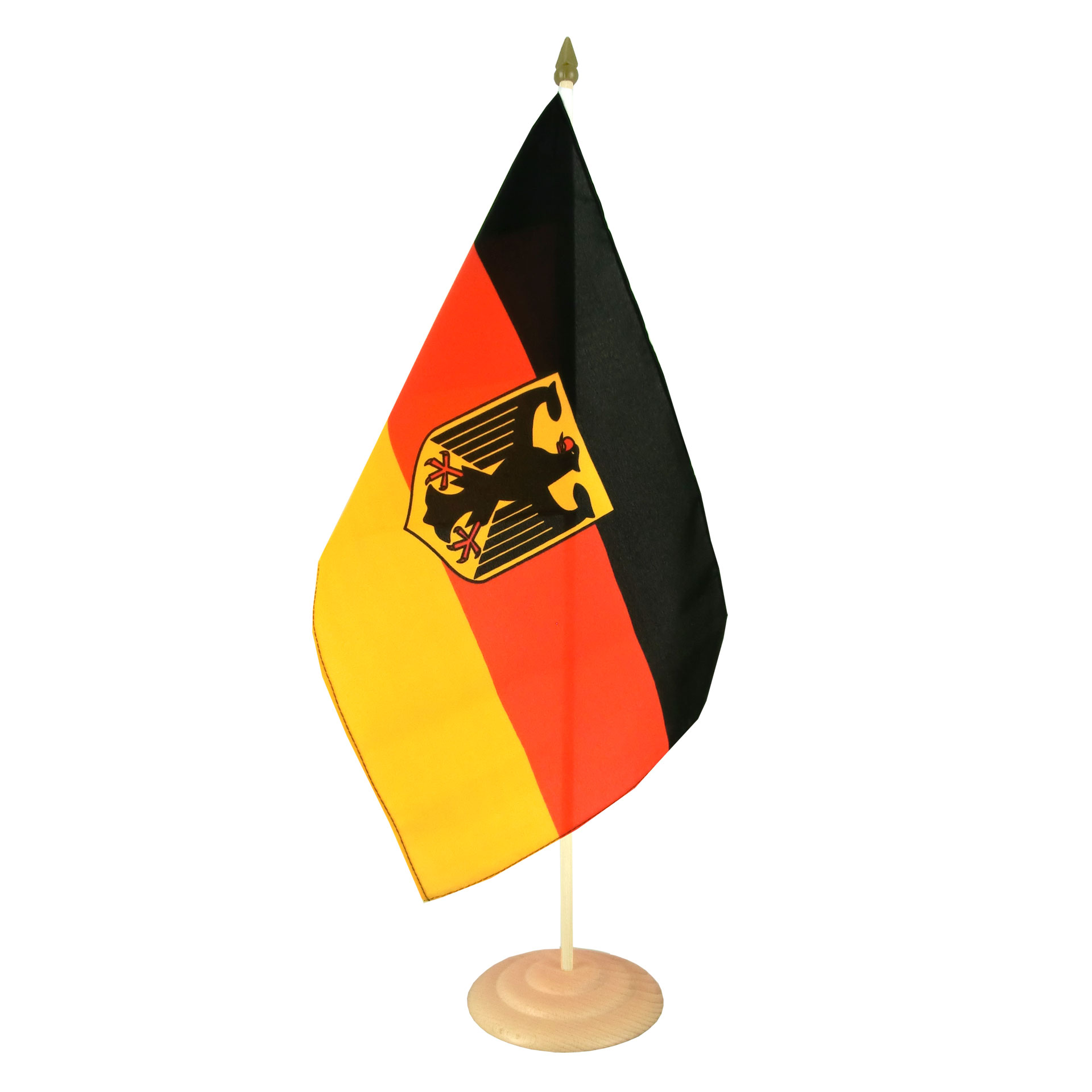 deutschland dienstflagge gro e tischflagge 30 x 45 cm. Black Bedroom Furniture Sets. Home Design Ideas