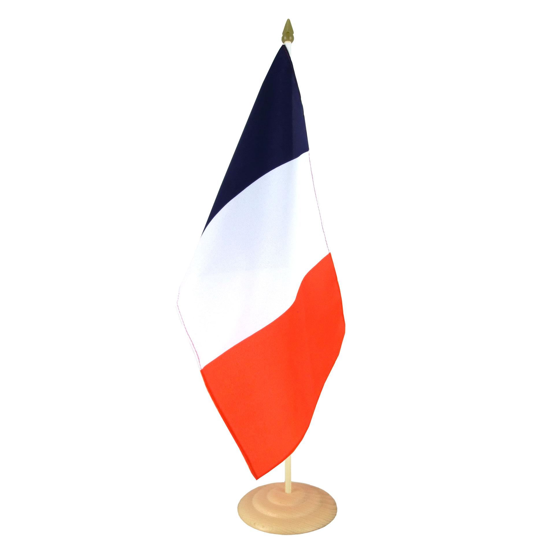 grand drapeau de table france 30 x 45 cm m drapeaux. Black Bedroom Furniture Sets. Home Design Ideas