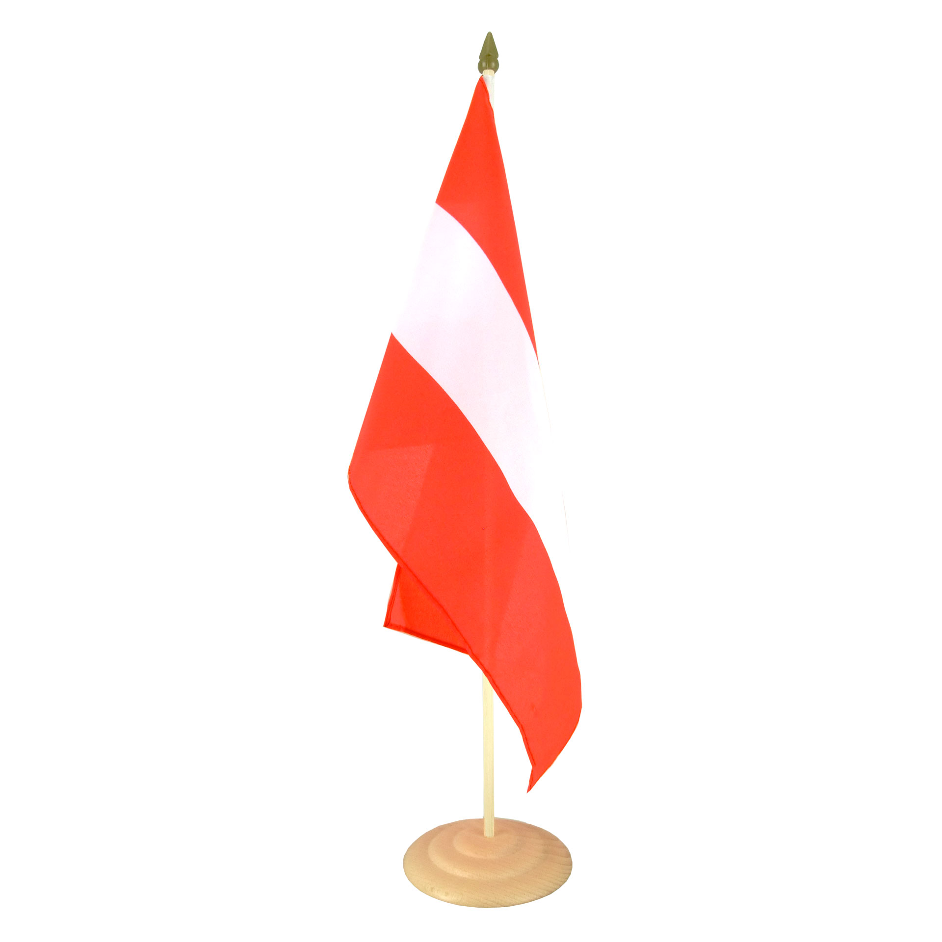 large table flag austria 12x18 wooden royal flags