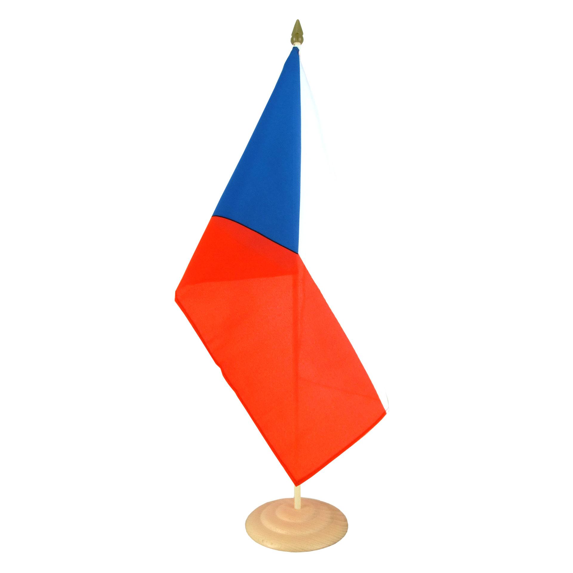 Large Table Flag Czech Republic