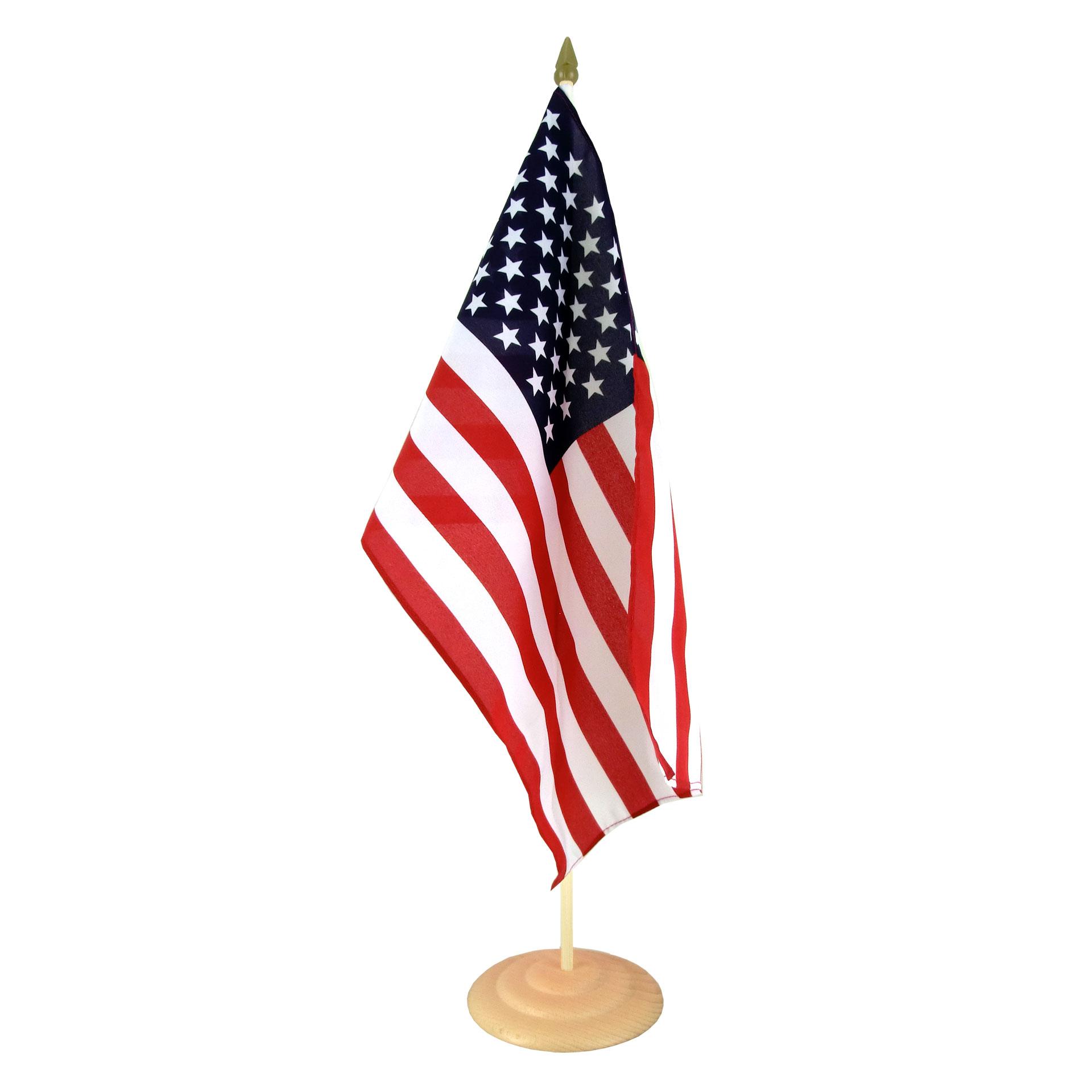 Large Table Flag USA