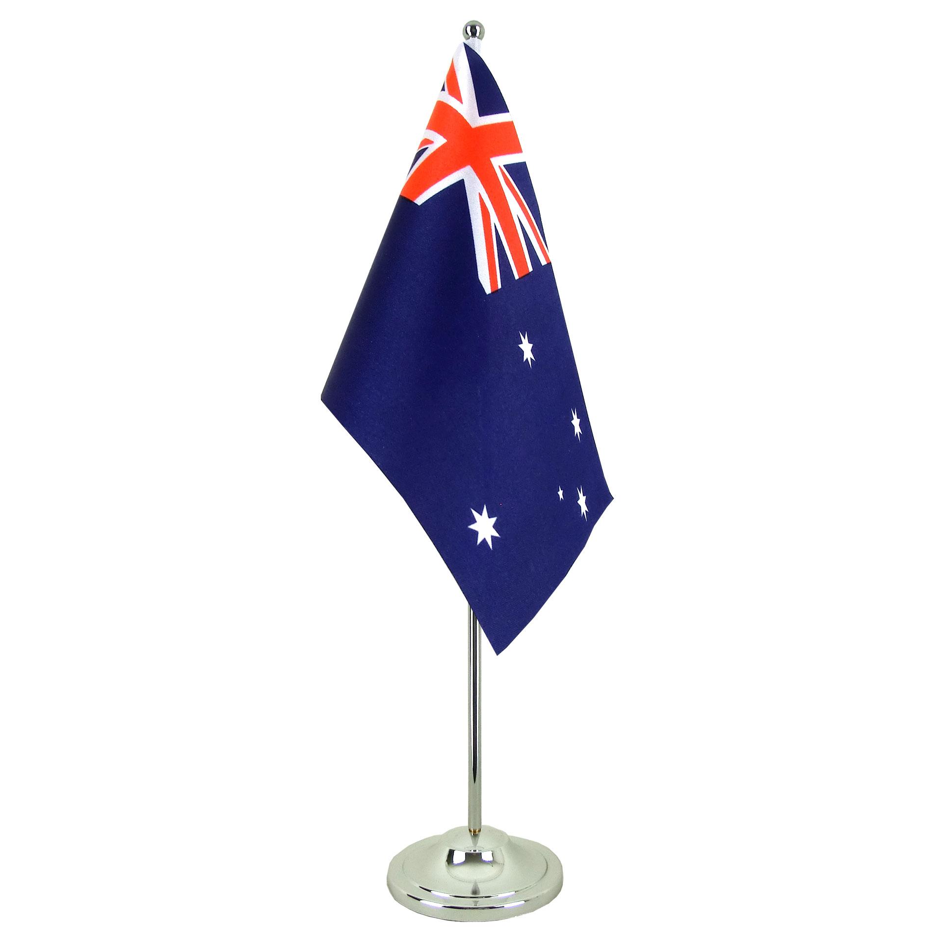 satin table flag australia 6x9 royal flags