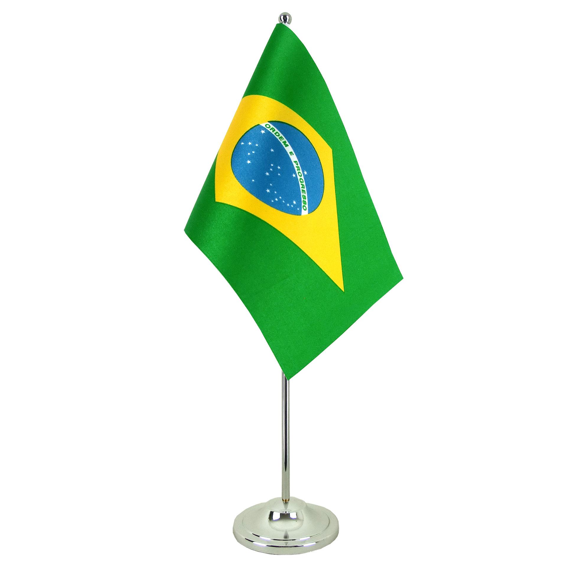 Brazil Flag Half Mast