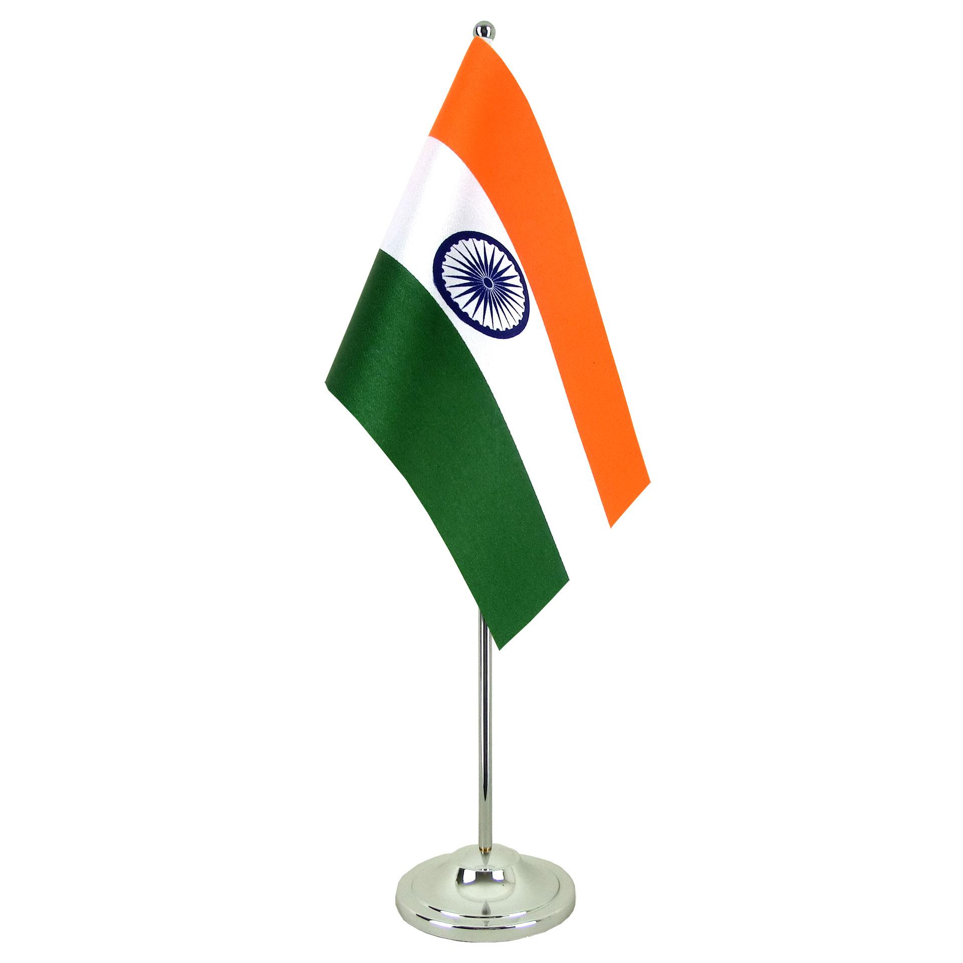 """Satin Table Flag India  6x9""""  Royalflags. Hacker Desk. Zendesk Vs Desk Com. Desk Drawer Dividers. Big Lots Glass Desk. Storage Unit With Drawers And Shelves. Drawer Unit For Desk. Kids Lap Desk With Storage. Two Sided Desk"""