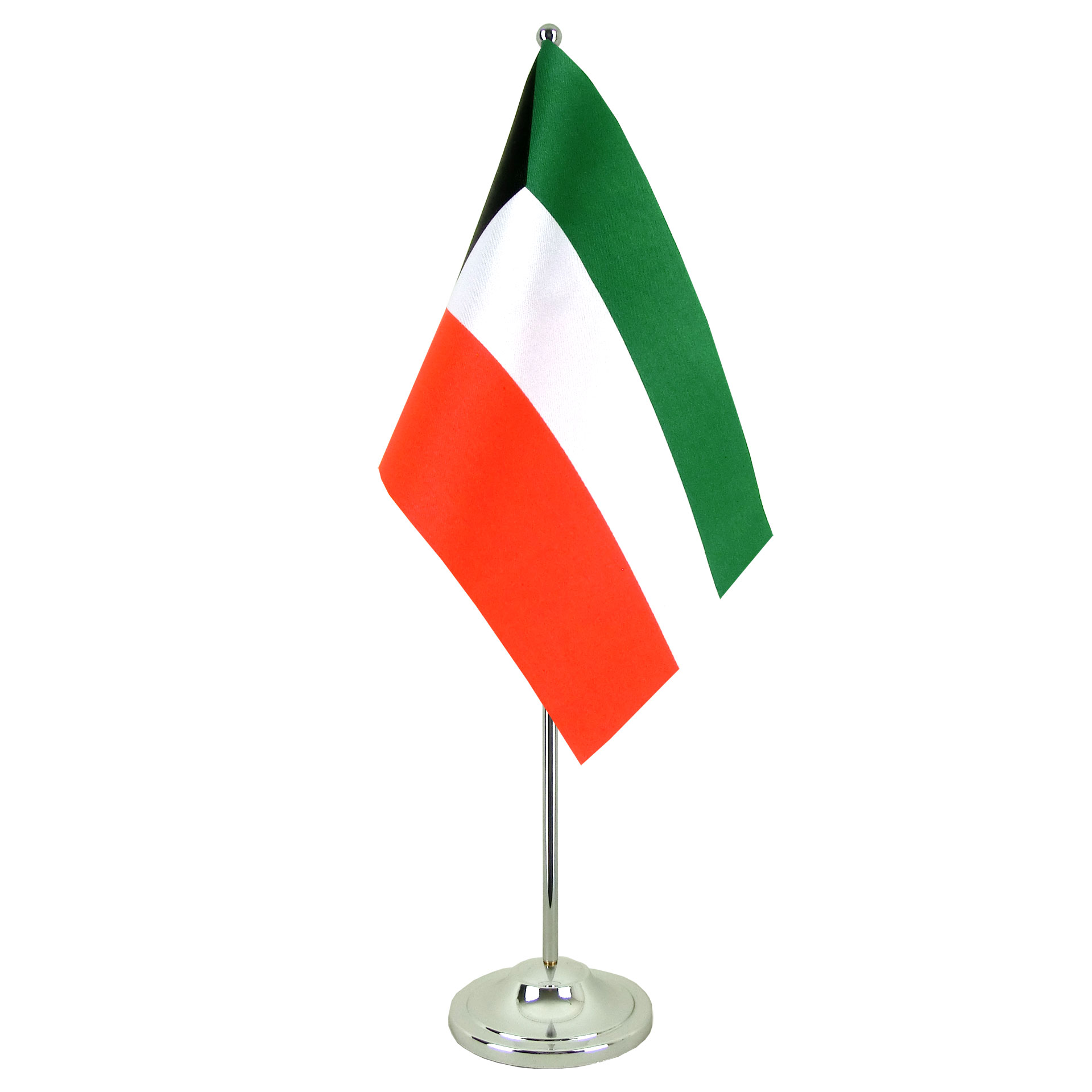 Satin Table Flag Kuwait 6x9 Quot Royal Flags