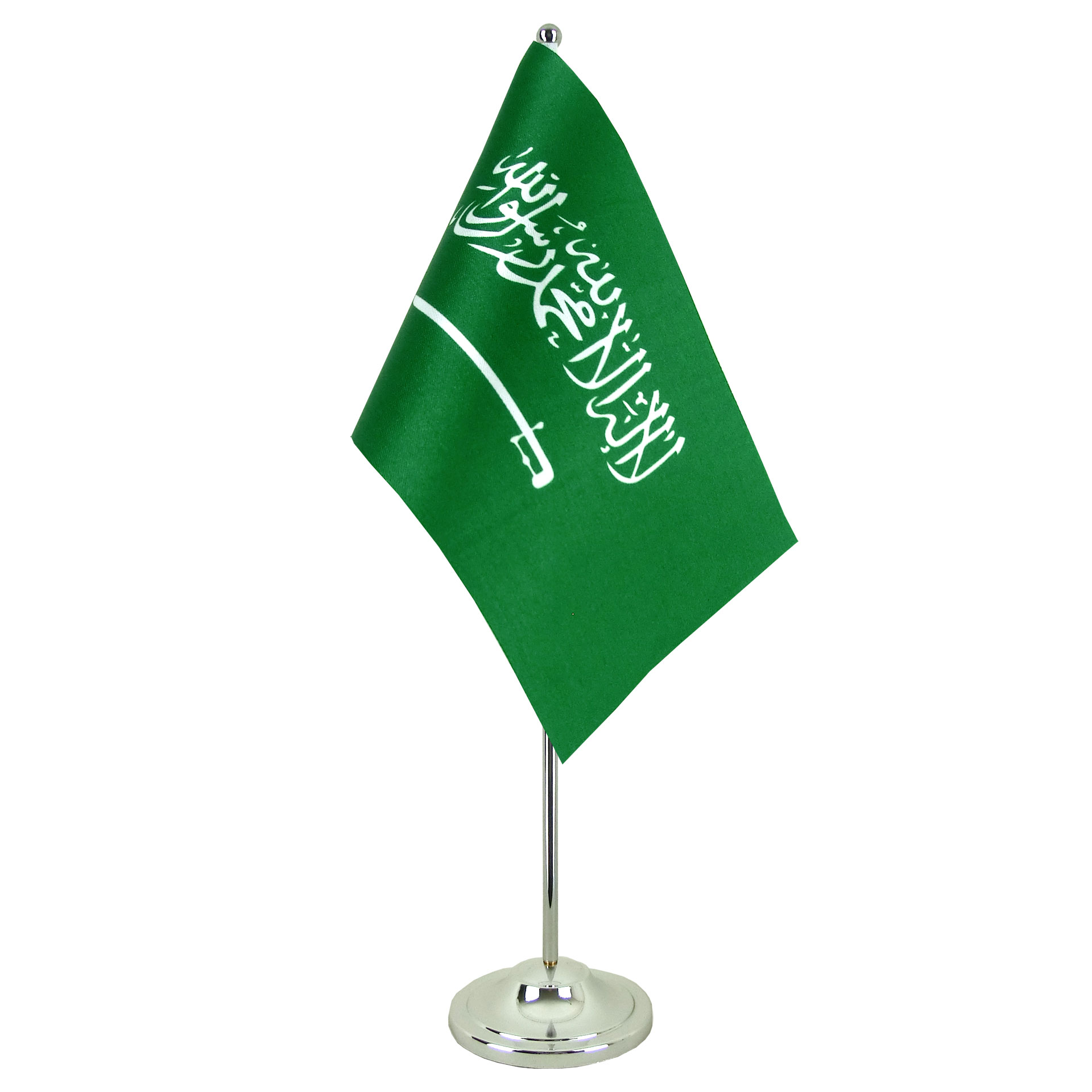 satin saudi arabia table flag - 6x9 u0026quot
